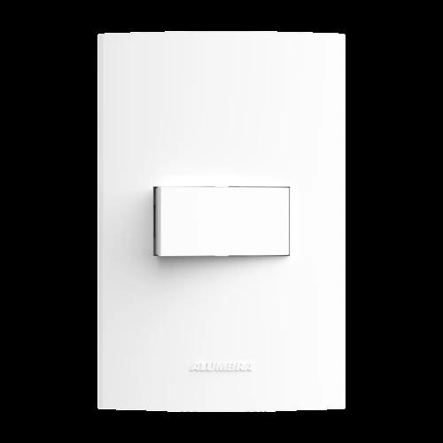 Kit 15 und Inova Pró 1 Seção de Interruptor Simples Com Placa