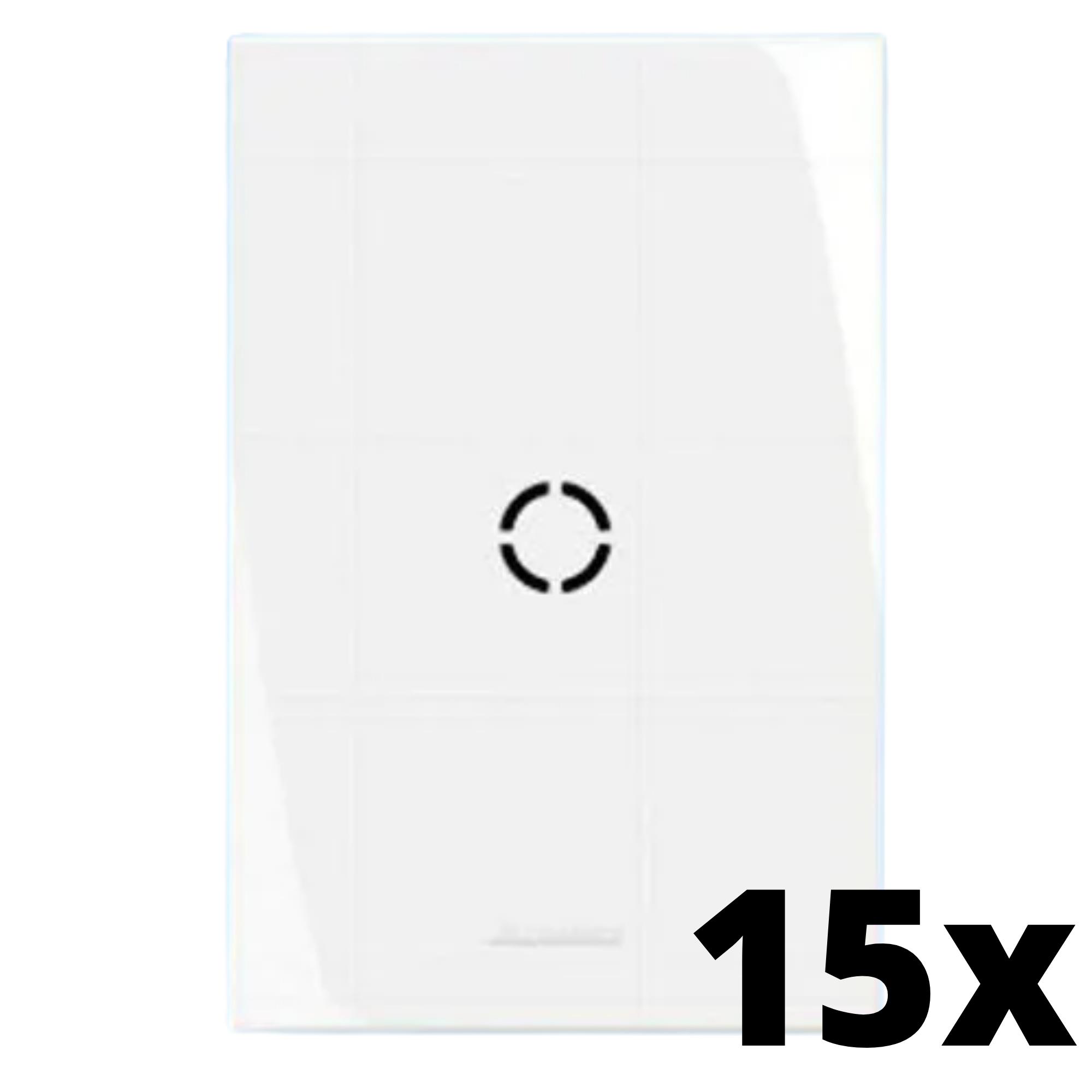 Kit 15 und Inova Pró Placa 4x2 Com Furo