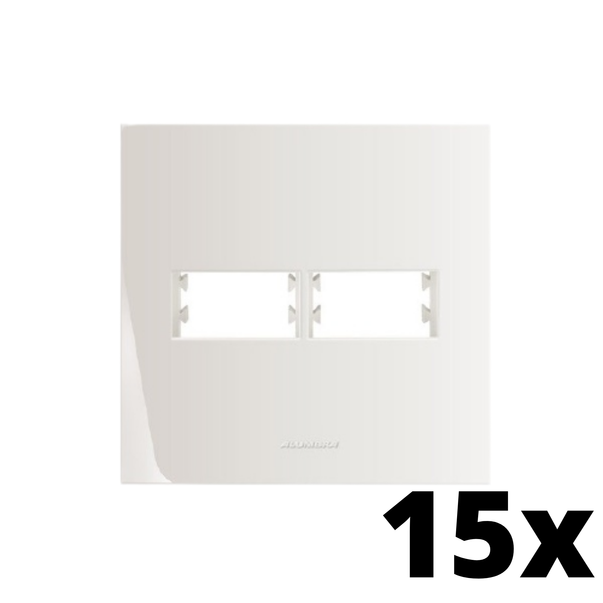 Kit 15 und Inova Pró Placa 4x4 1 Seção + 1 Seção