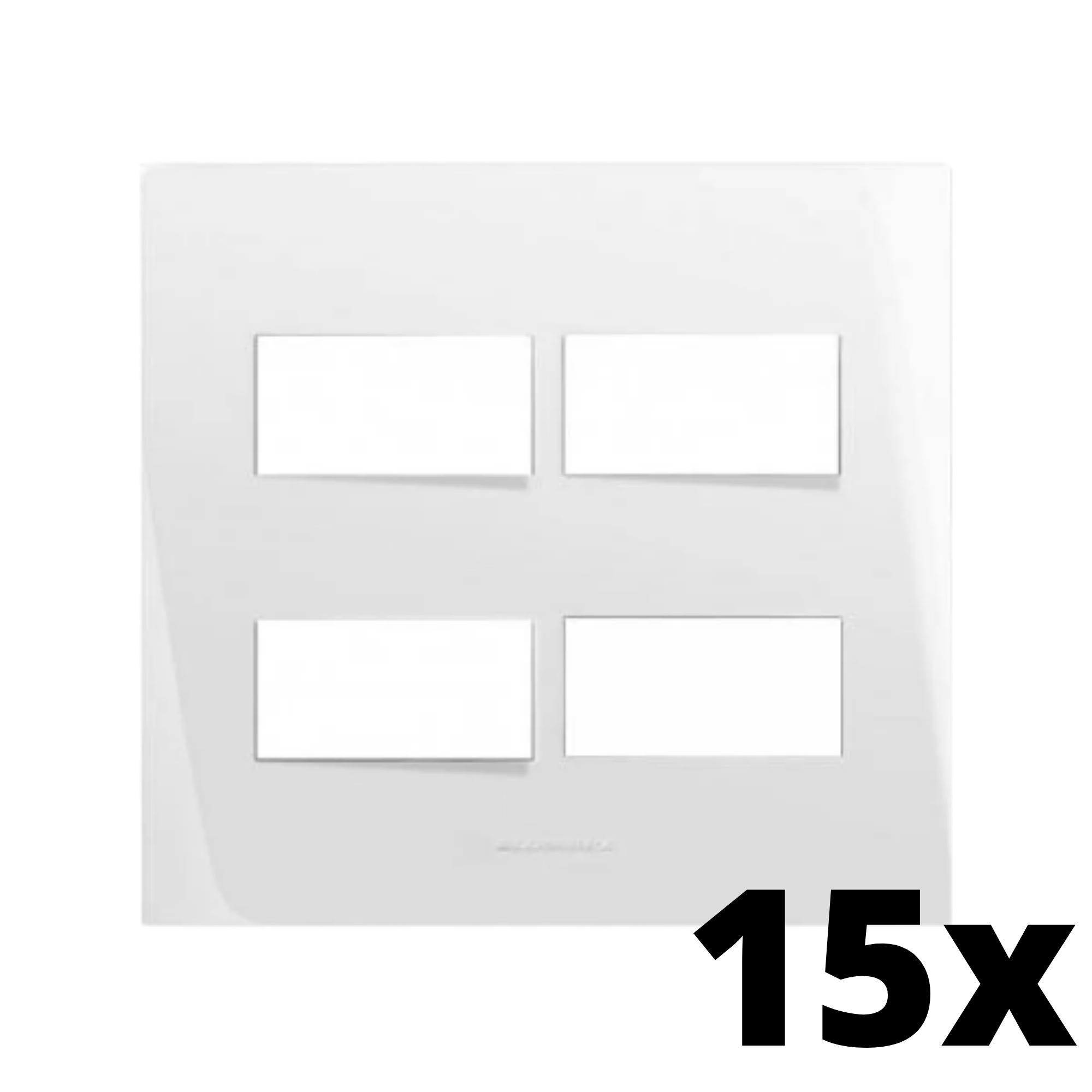 Kit 15 und Inova Pró Placa 4x4 2 Seções + 2 Seções