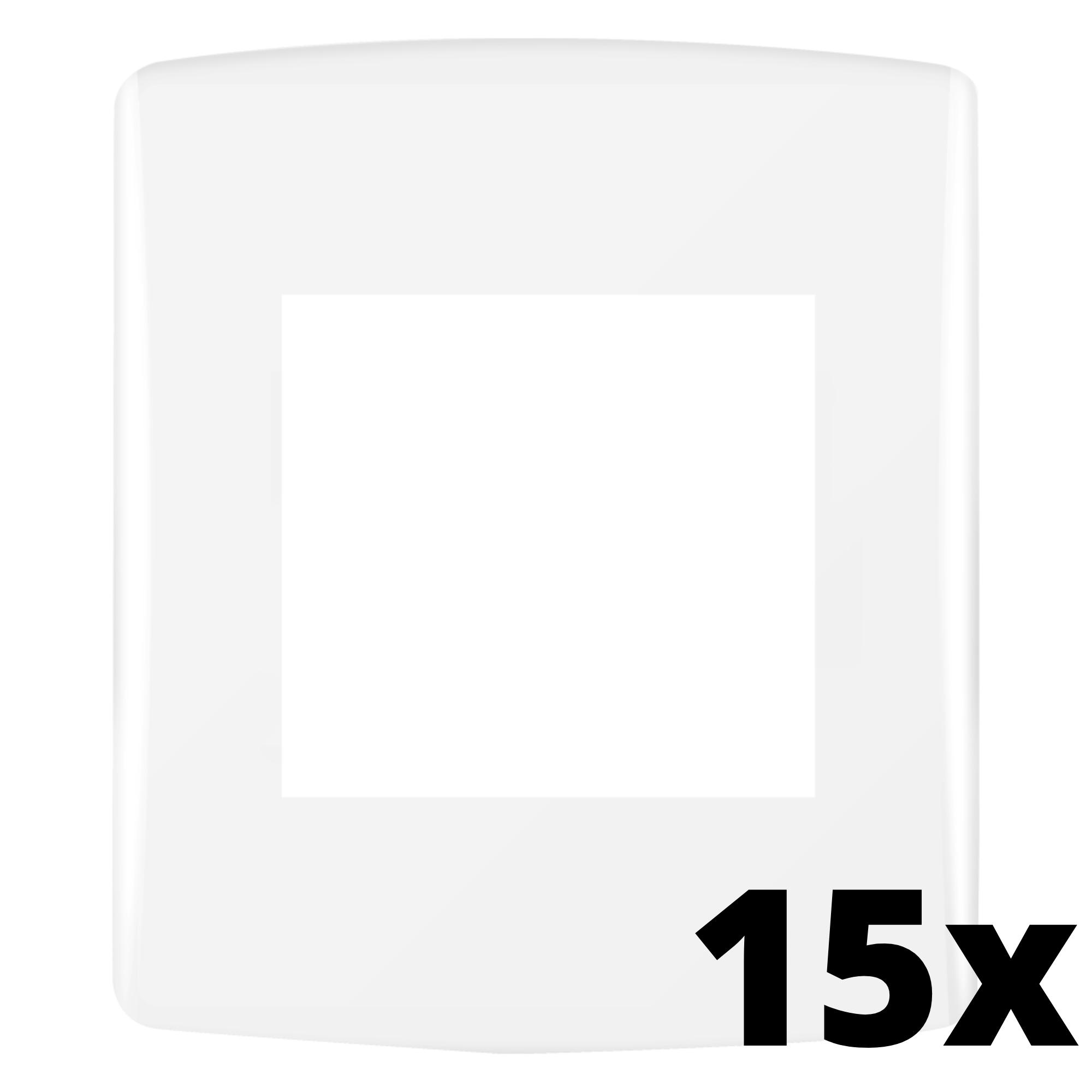 Kit 15 und Siena Fácil Placa 4x2 2 Seções