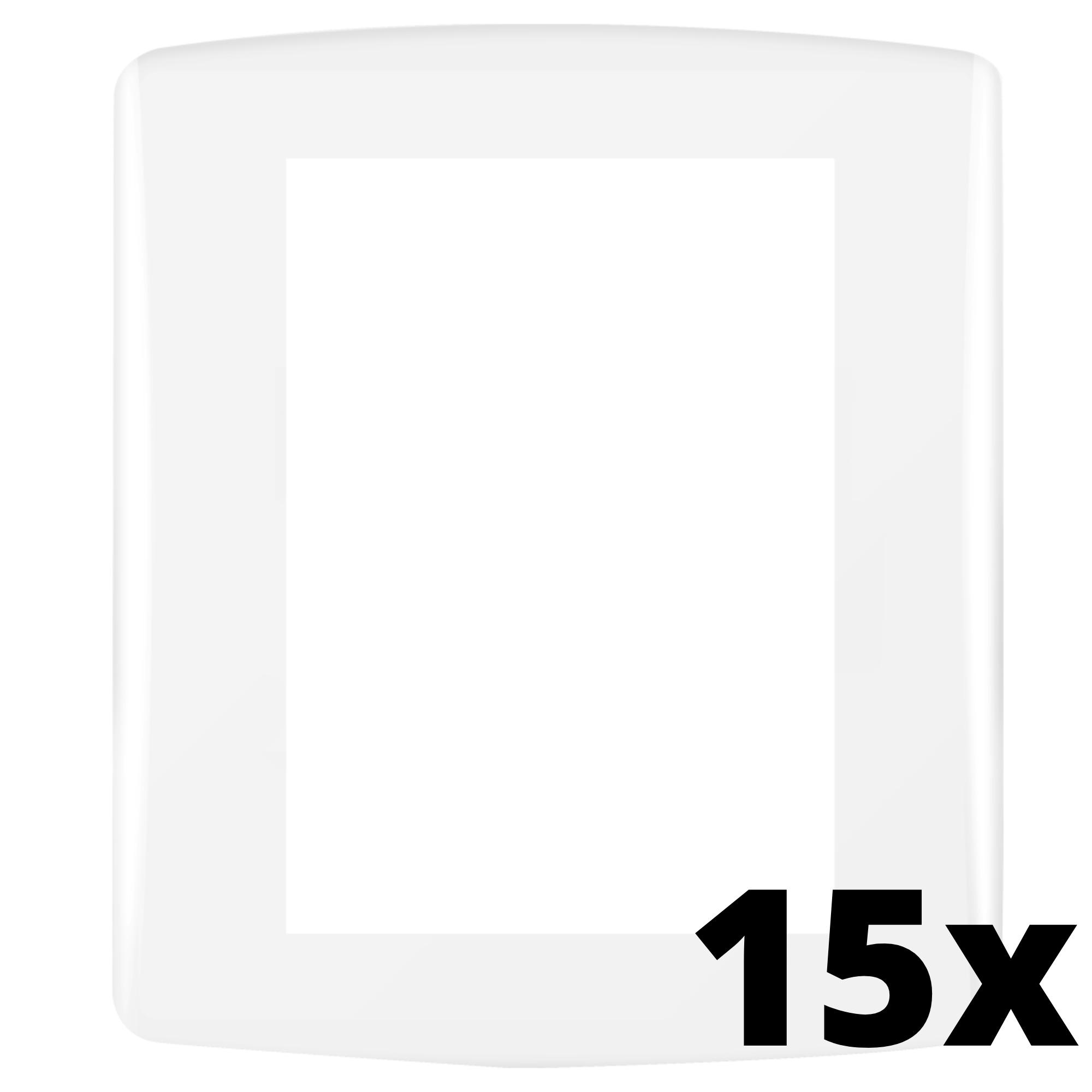 Kit 15 und Siena Fácil Placa 4x2 3 Seções