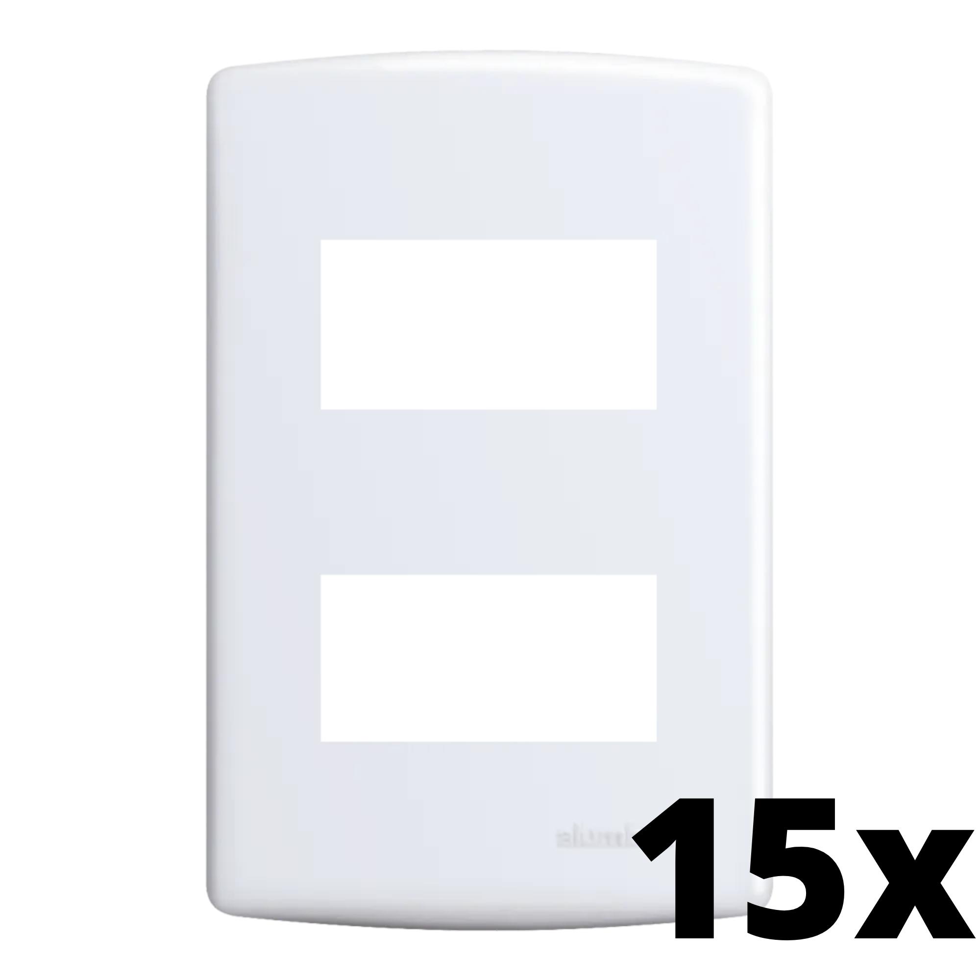 Kit 15 und Siena Placa 4x2 2 Seções Distanciadas