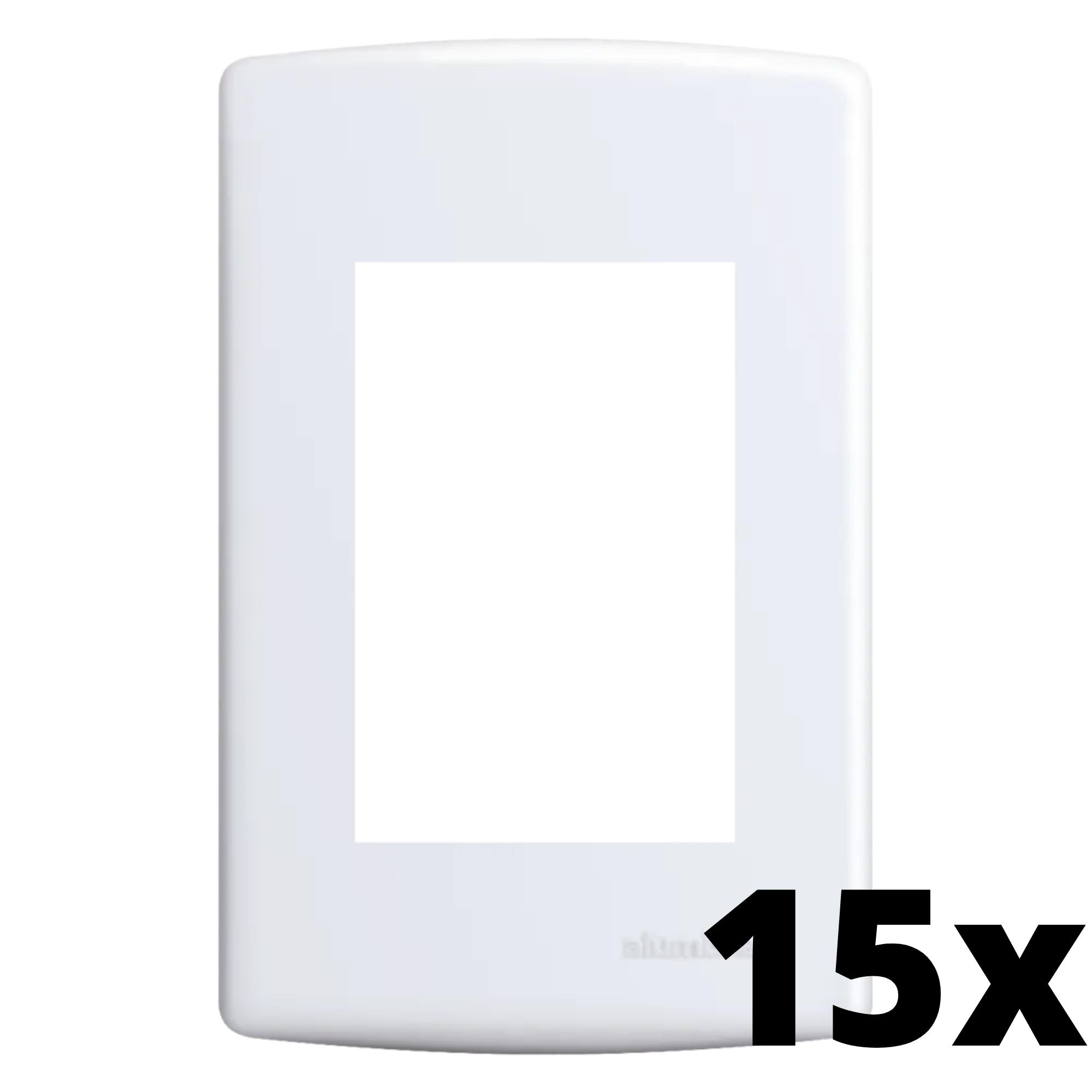 Kit 15 und Siena Placa 4x2 3 Seções