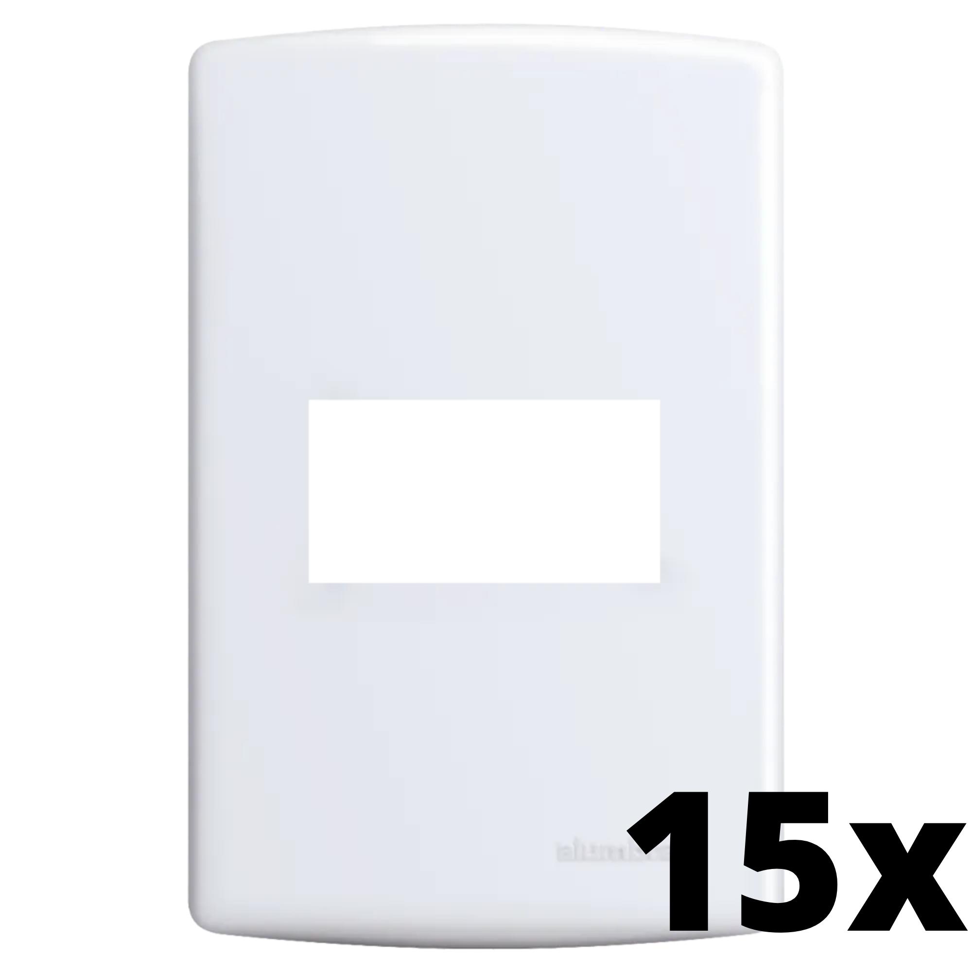 Kit 15 und Siena Placa 4x2 Cega