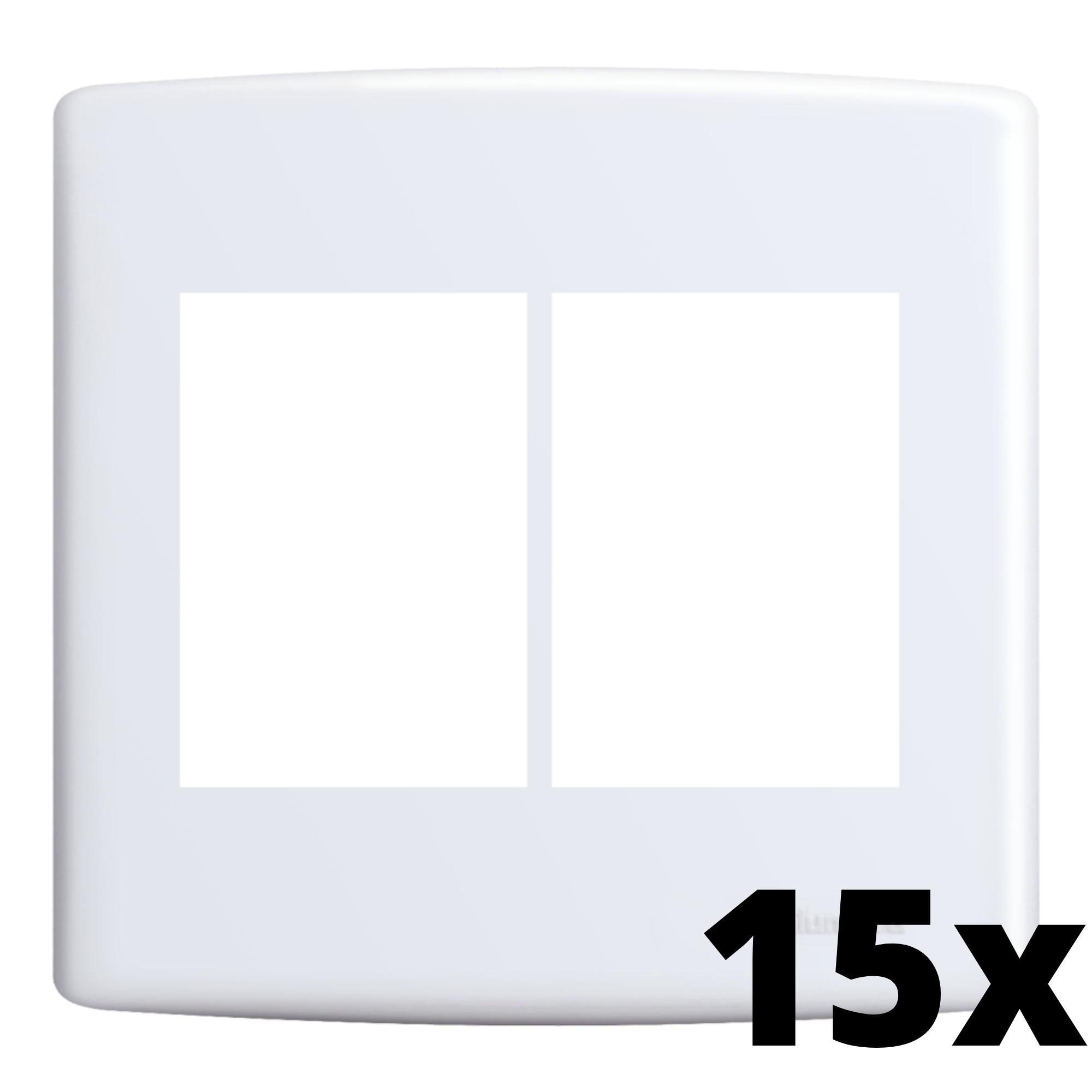 Kit 15 und Siena Placa 4x4 3 Seções + 3 Seções