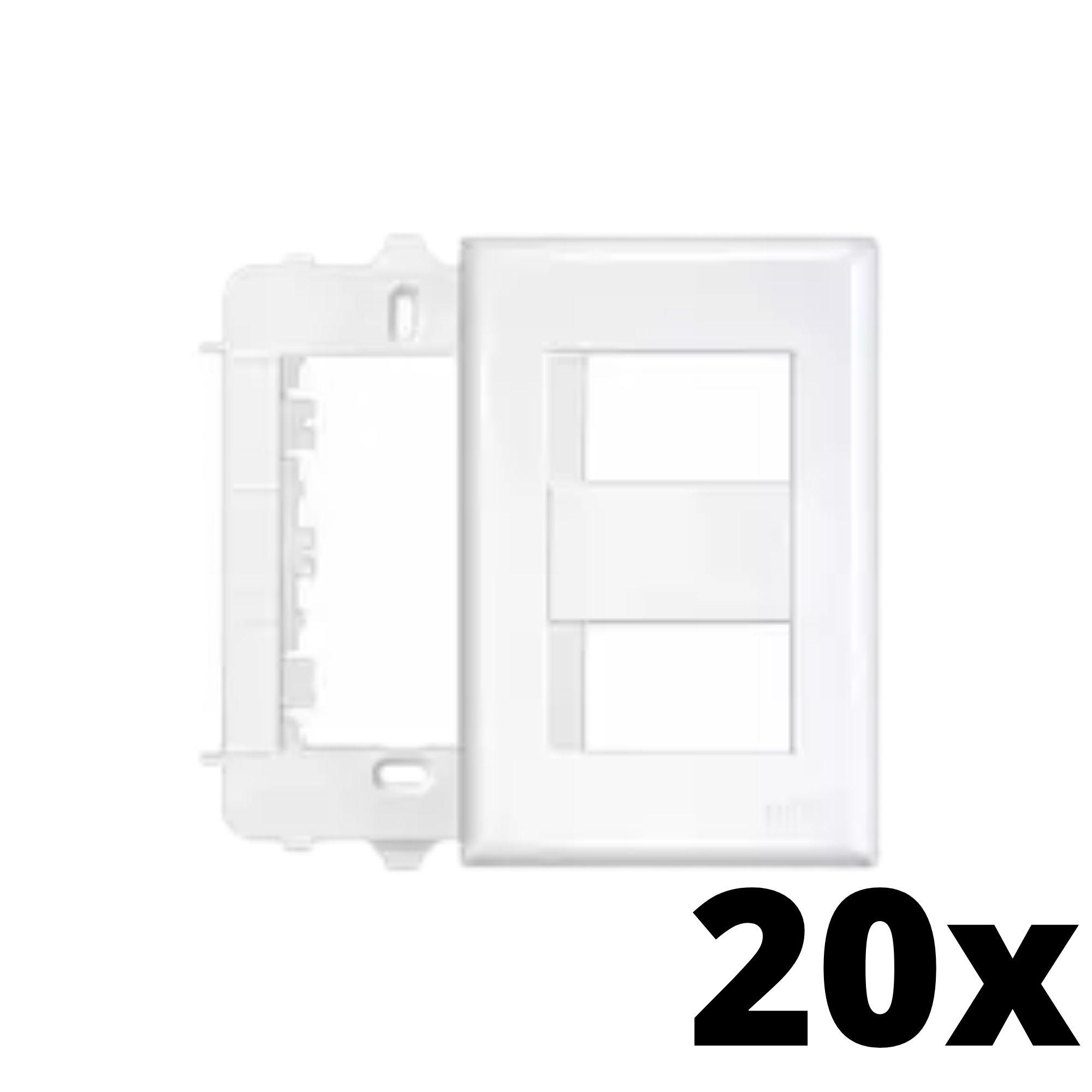 Kit 20 und Evidence Placa 4x2 2 Seções Distanciadas