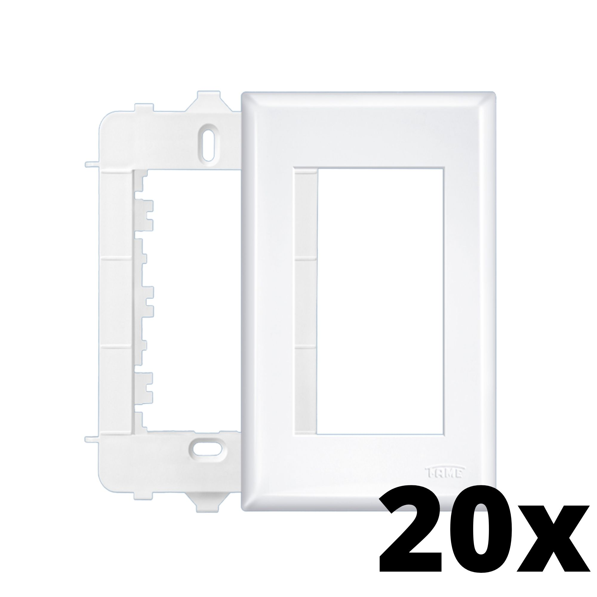 Kit 20 und Evidence Placa 4x2 3 Seções