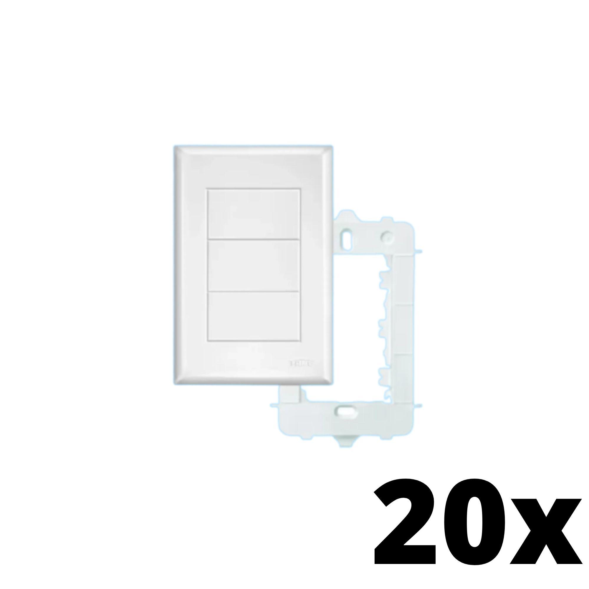Kit 20 und Evidence Placa 4x2 Cega
