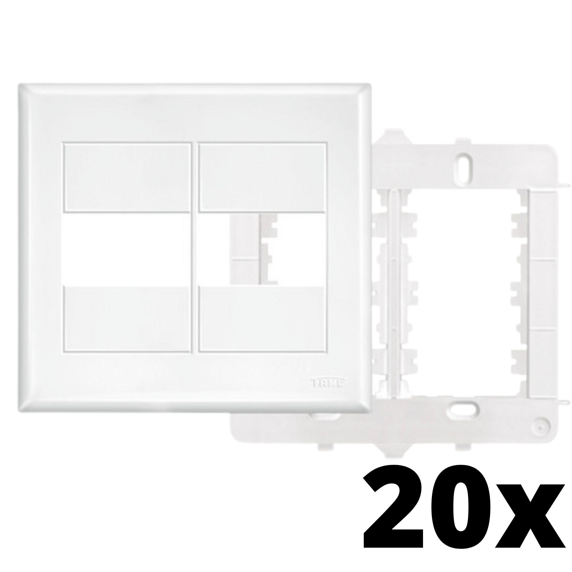 Kit 20 und Evidence Placa 4x4 1 Seção + 1 Seção