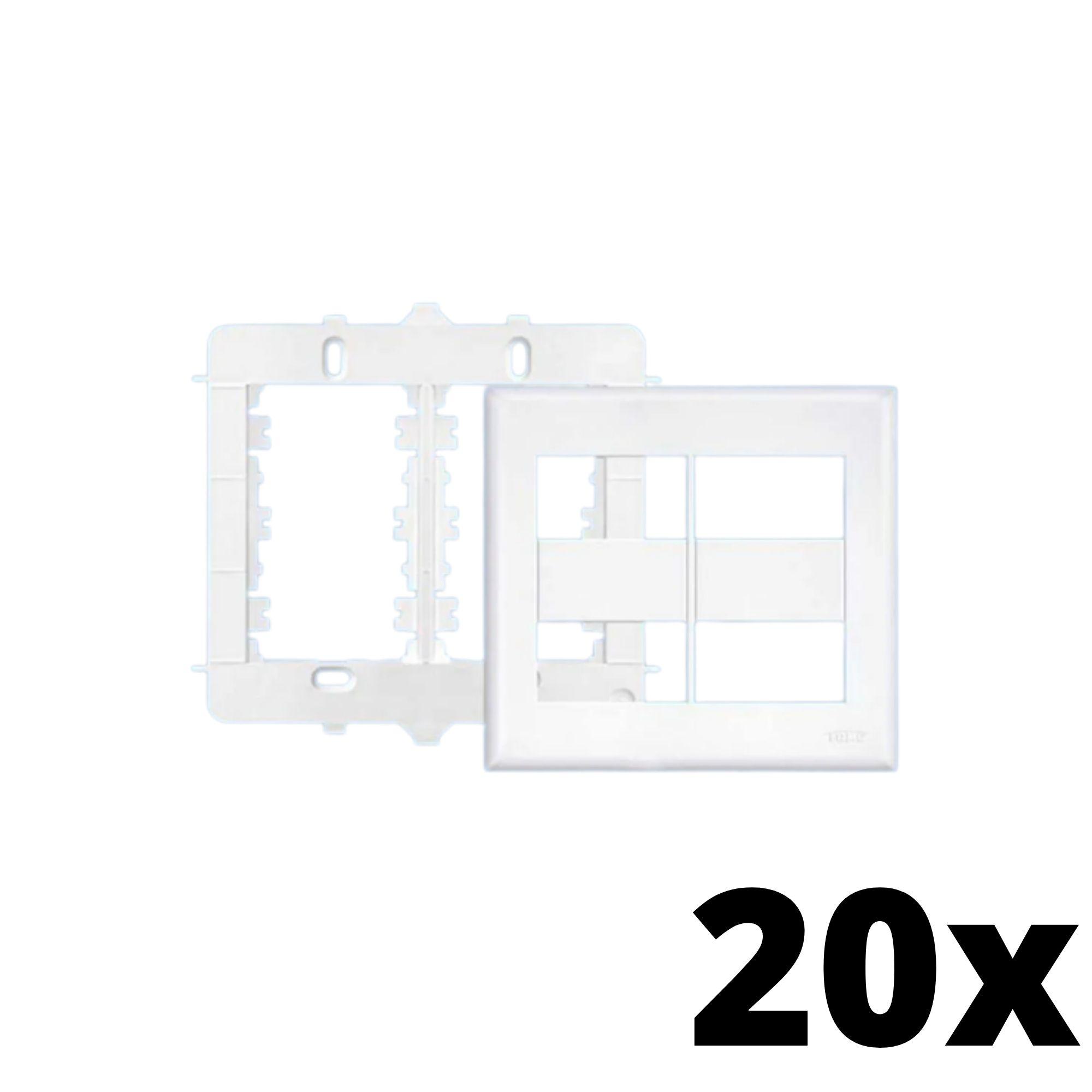 Kit 20 und Evidence Placa 4x4 2 Seções + 2 Seções
