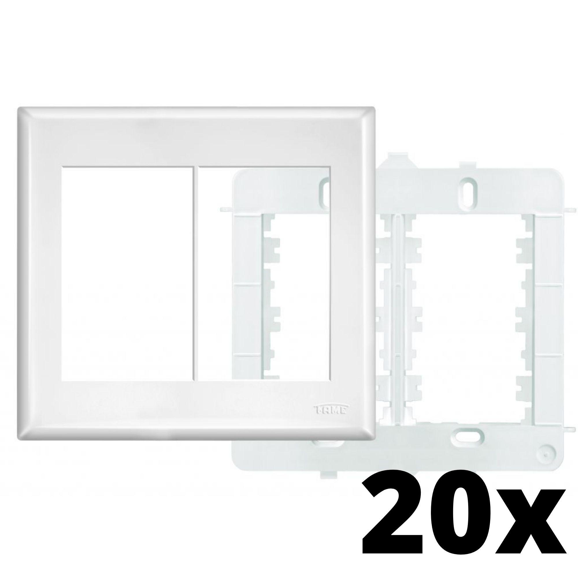 Kit 20 und Evidence Placa 4x4 3 Seções + 3 Seções