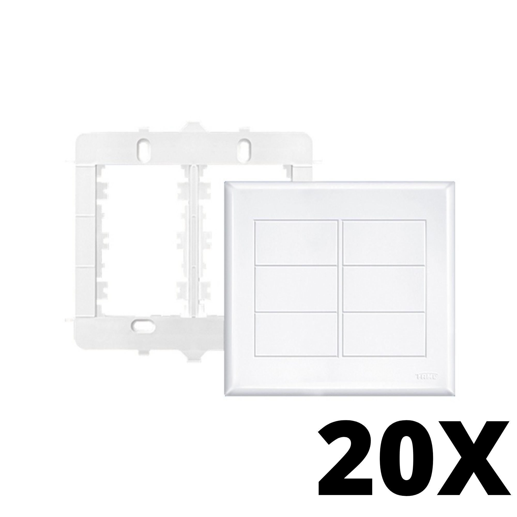 Kit 20 und Evidence Placa 4x4 Cega
