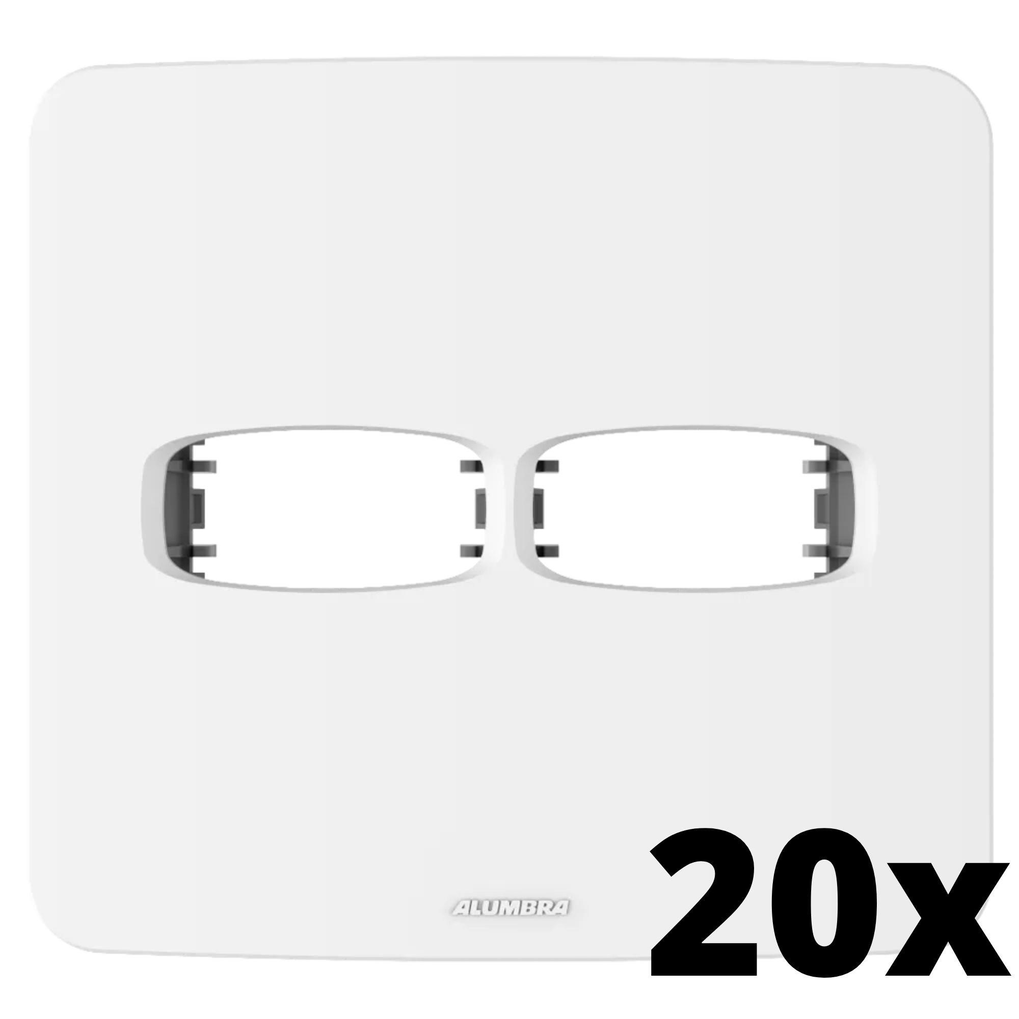Kit 20 und Gracia Placa 4x4 1 Seção + 1 Seção