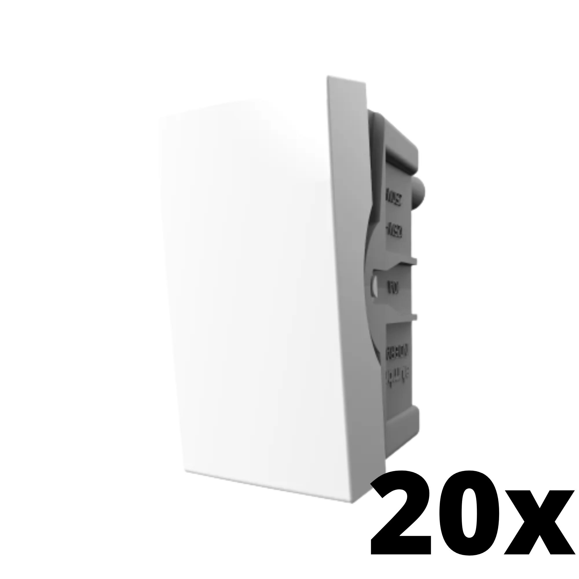 Kit 20 und Inova Pró Módulo de Interruptor Simples