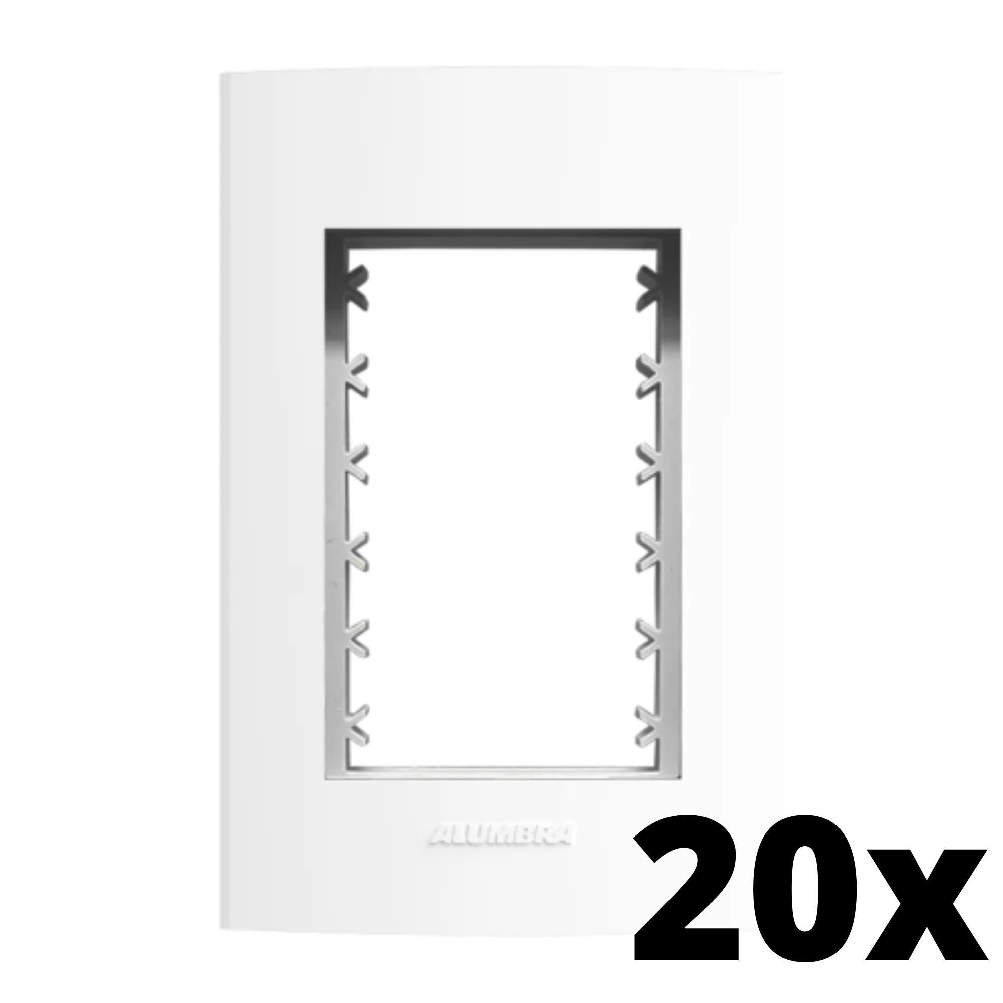 Kit 20 und Inova Pró Placa 4x2 3 Seções