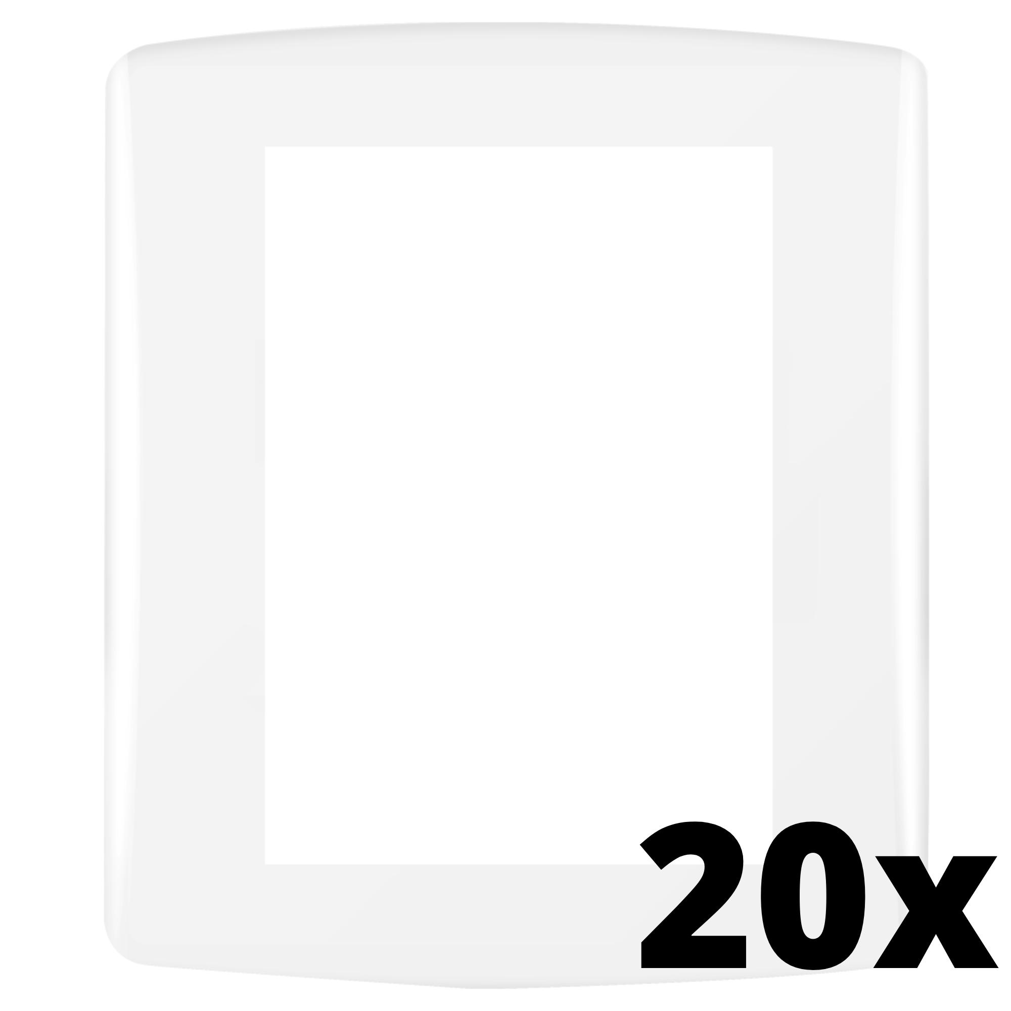 Kit 20 und Siena Fácil Placa 4x2 3 Seções