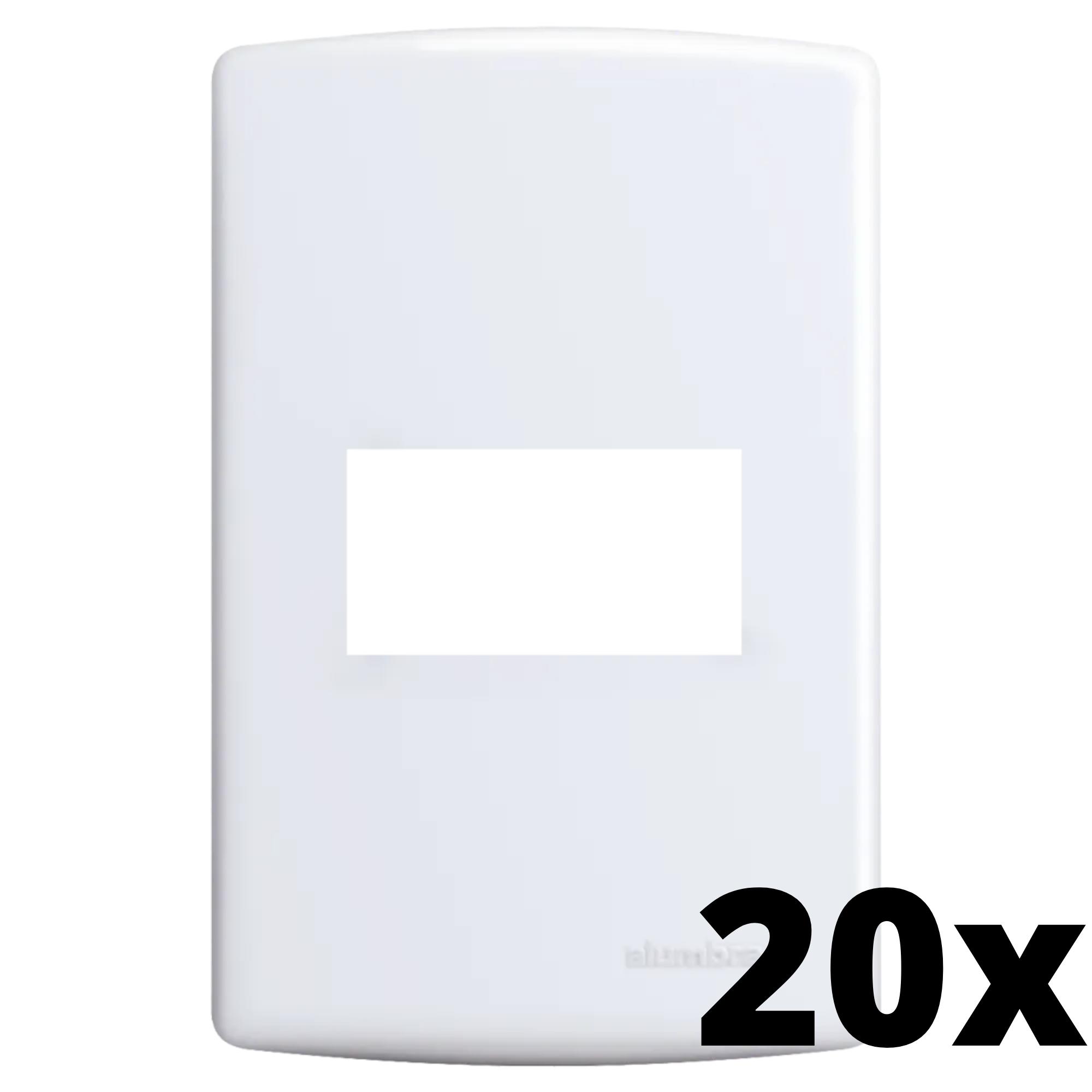 Kit 20 und Siena Placa 4x2 1 Seção