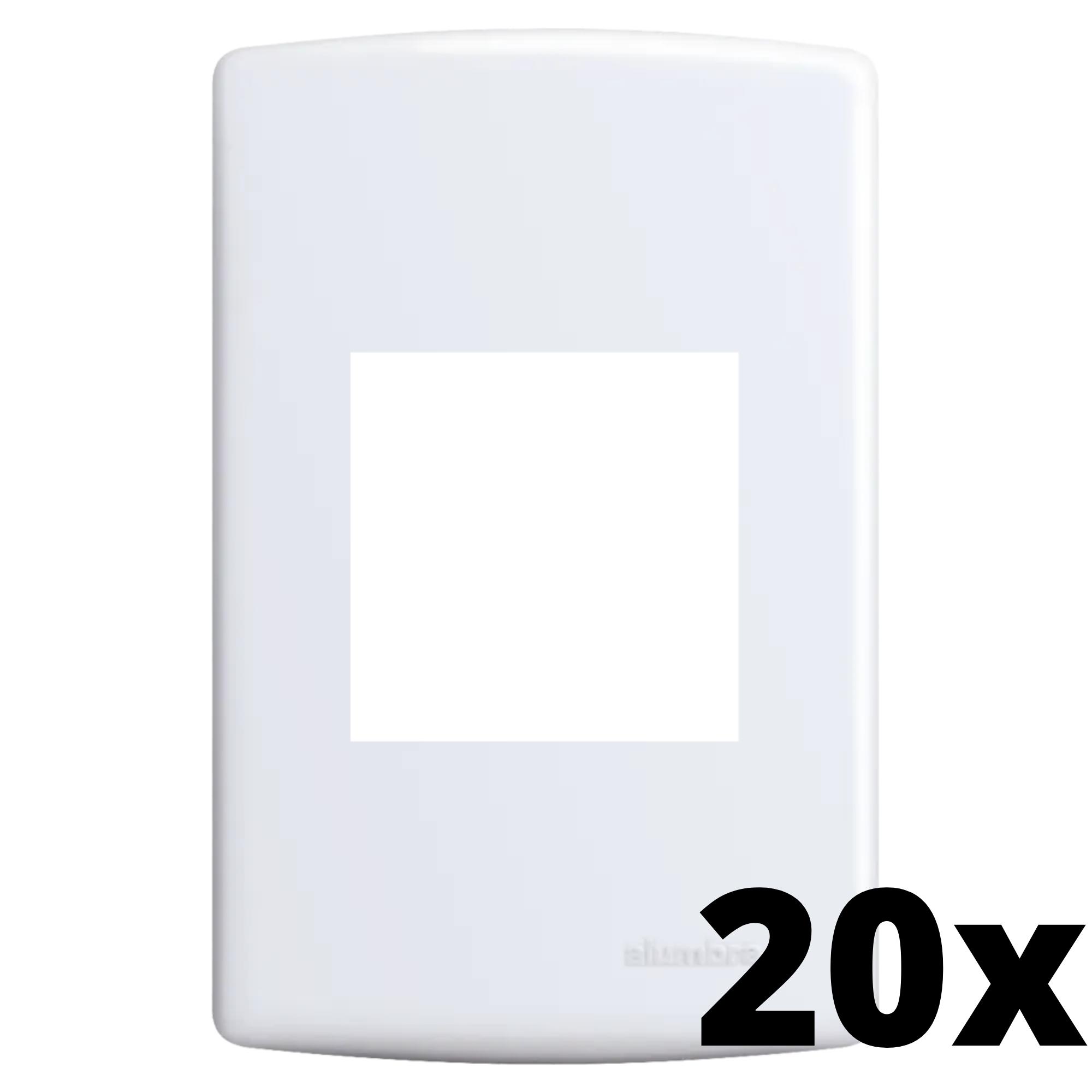 Kit 20 und Siena Placa 4x2 2 Seções