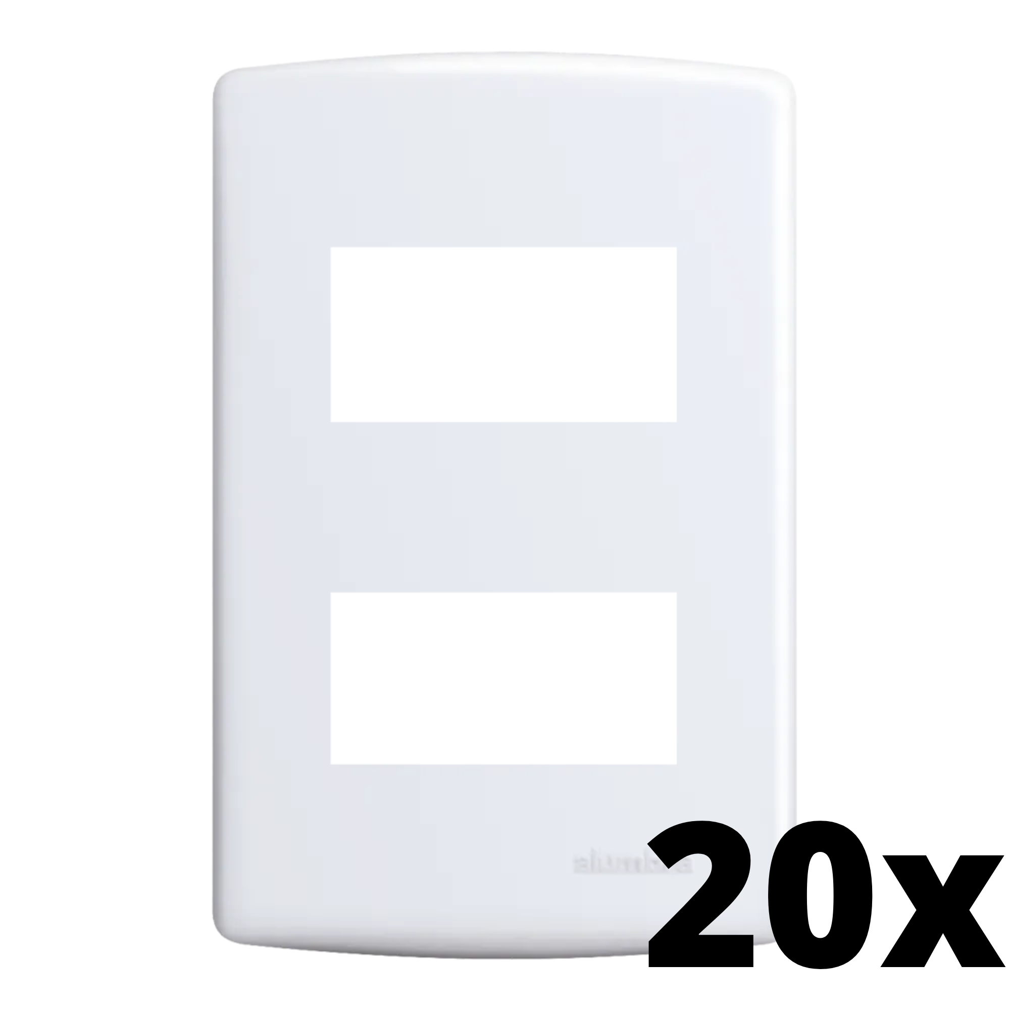 Kit 20 und Siena Placa 4x2 2 Seções Distanciadas