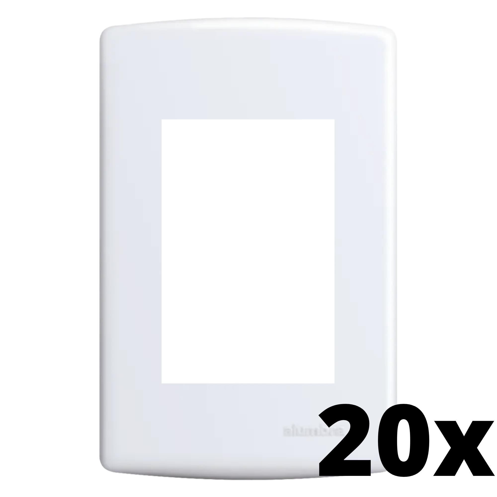 Kit 20 und Siena Placa 4x2 3 Seções