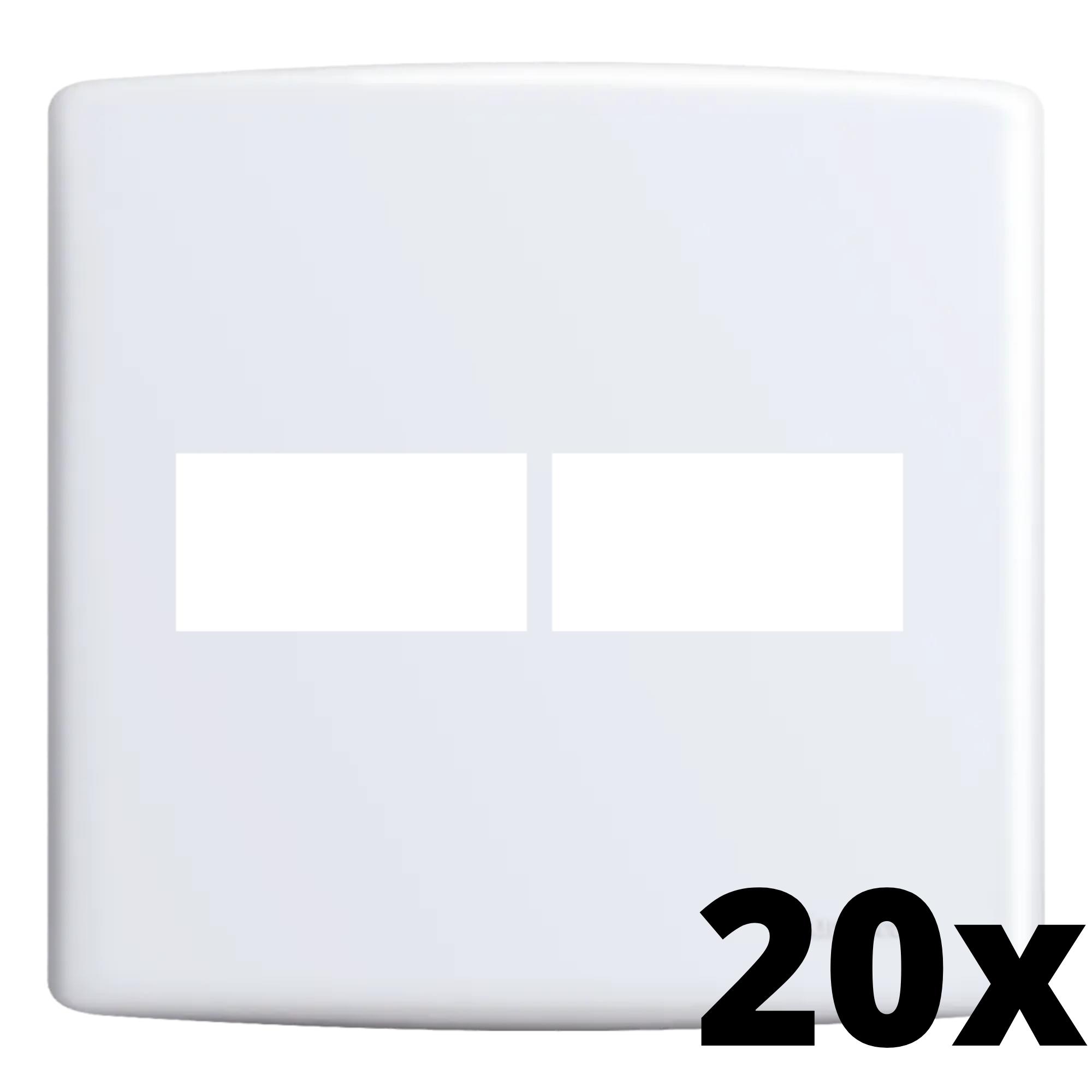 Kit 20 und Siena Placa 4x4 1 Seção + 1 Seção