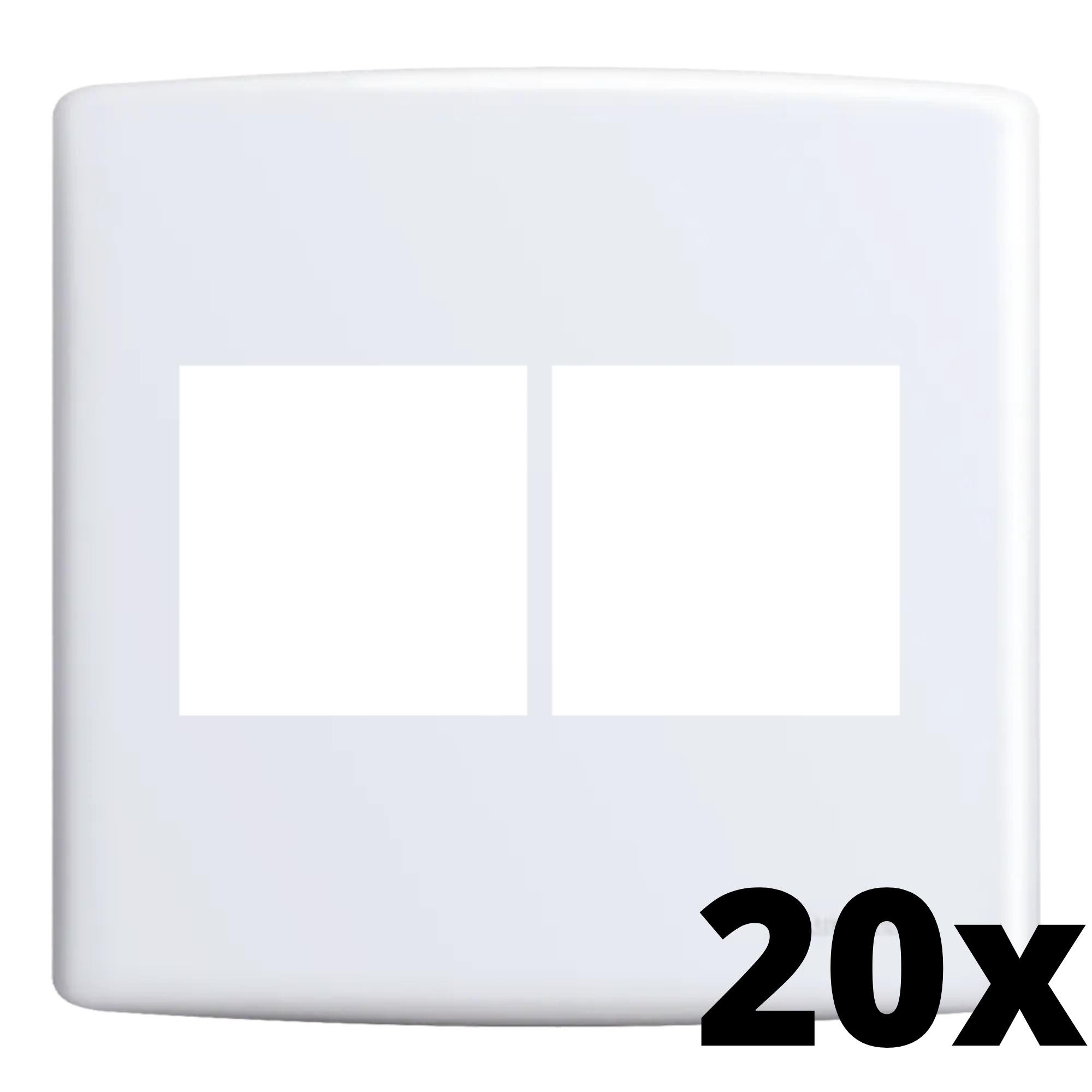 Kit 20 und Siena Placa 4x4 2 Seções + 2 Seções