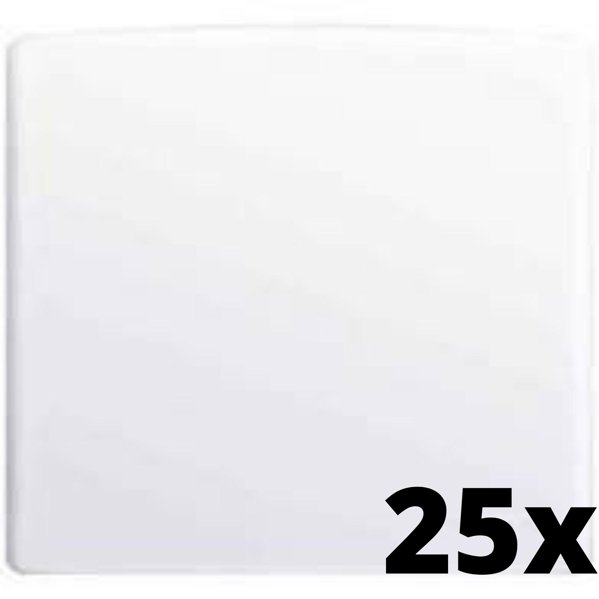 Kit 25 und Alumbra Bianco Pró Placa 4x4 Cega