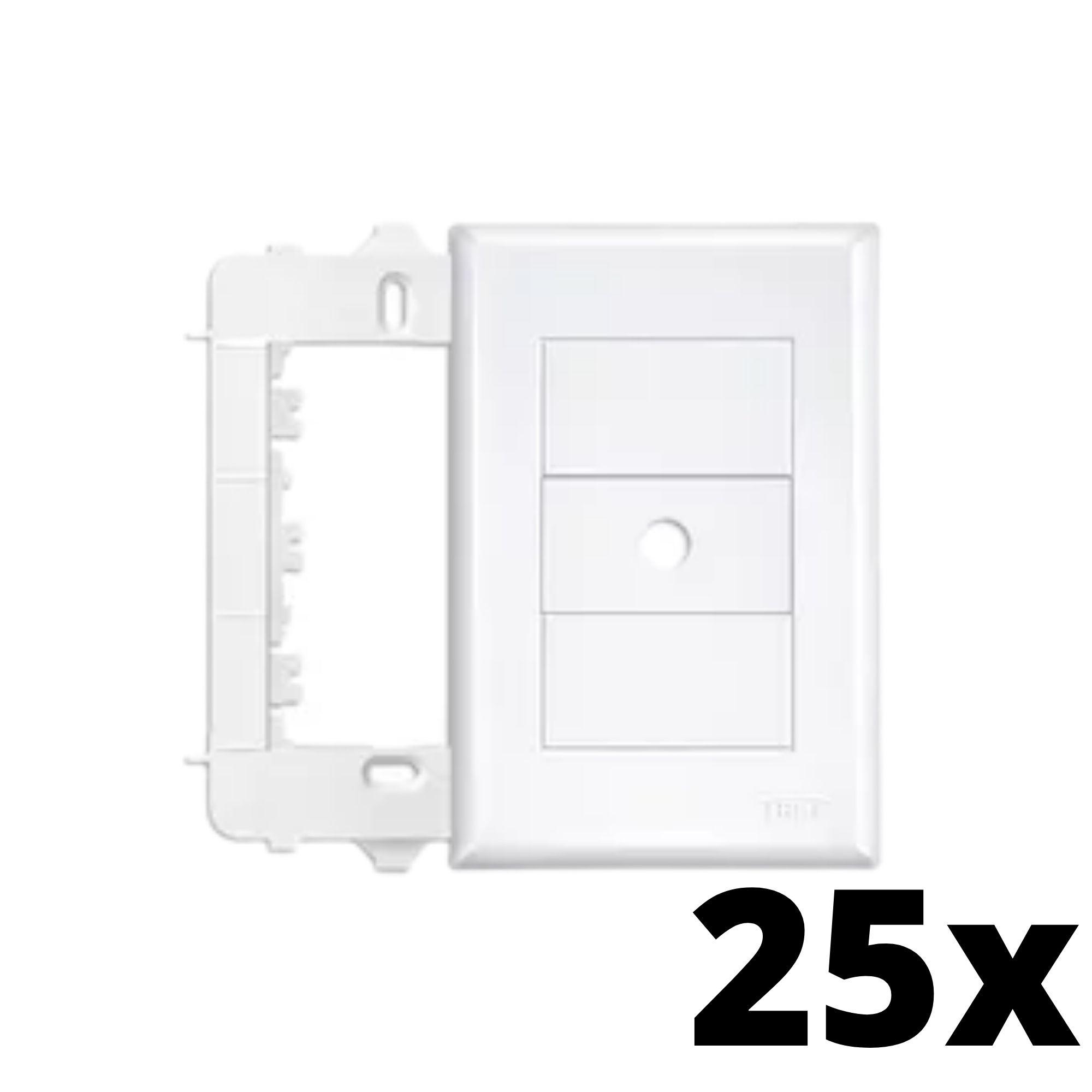 Kit 25 und Evidence Placa 4x2 Com Furo