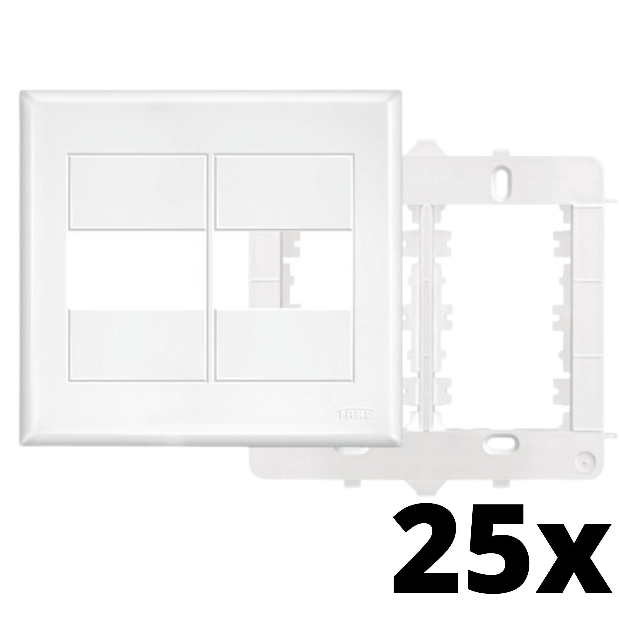 Kit 25 und Evidence Placa 4x4 1 Seção + 1 Seção