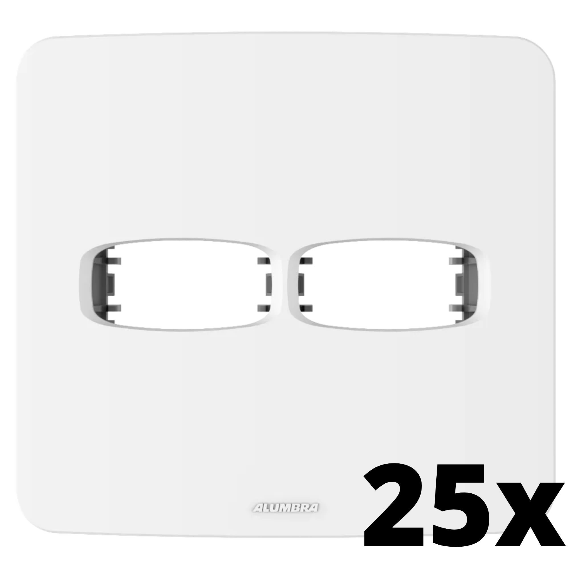 Kit 25 und Gracia Placa 4x4 1 Seção + 1 Seção