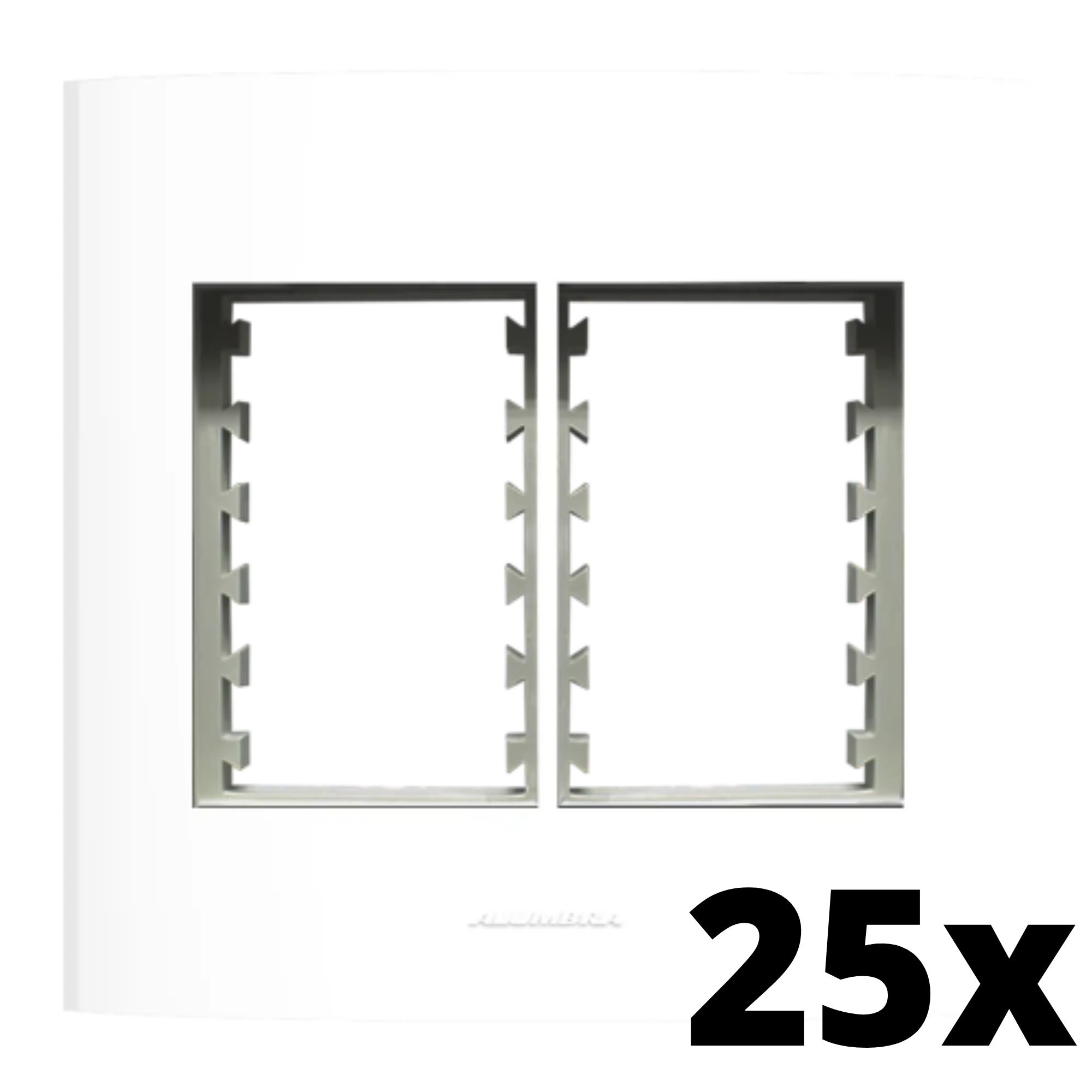 Kit 25 und Inova Pró Placa 4x4 3 Seções + 3 Seções