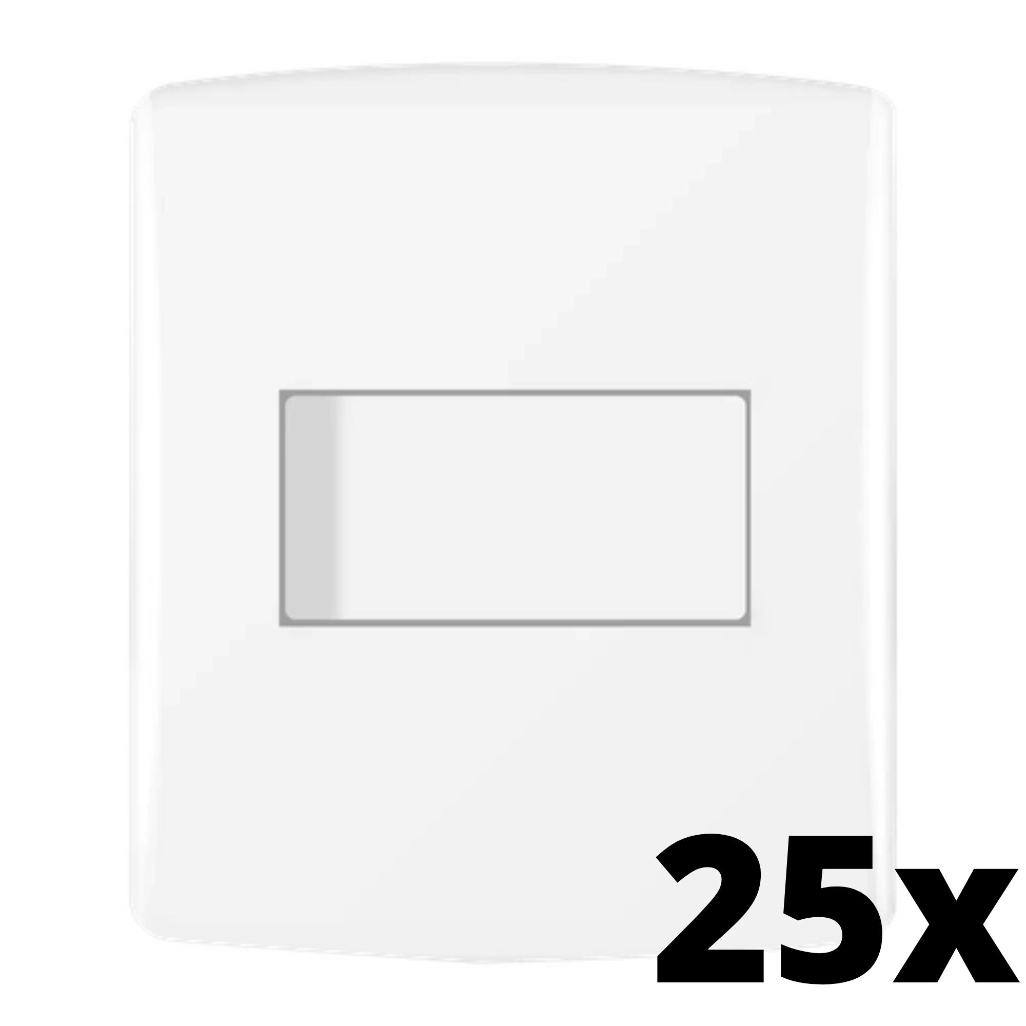 Kit 25 und Siena 1 Seção de Interruptor Simples