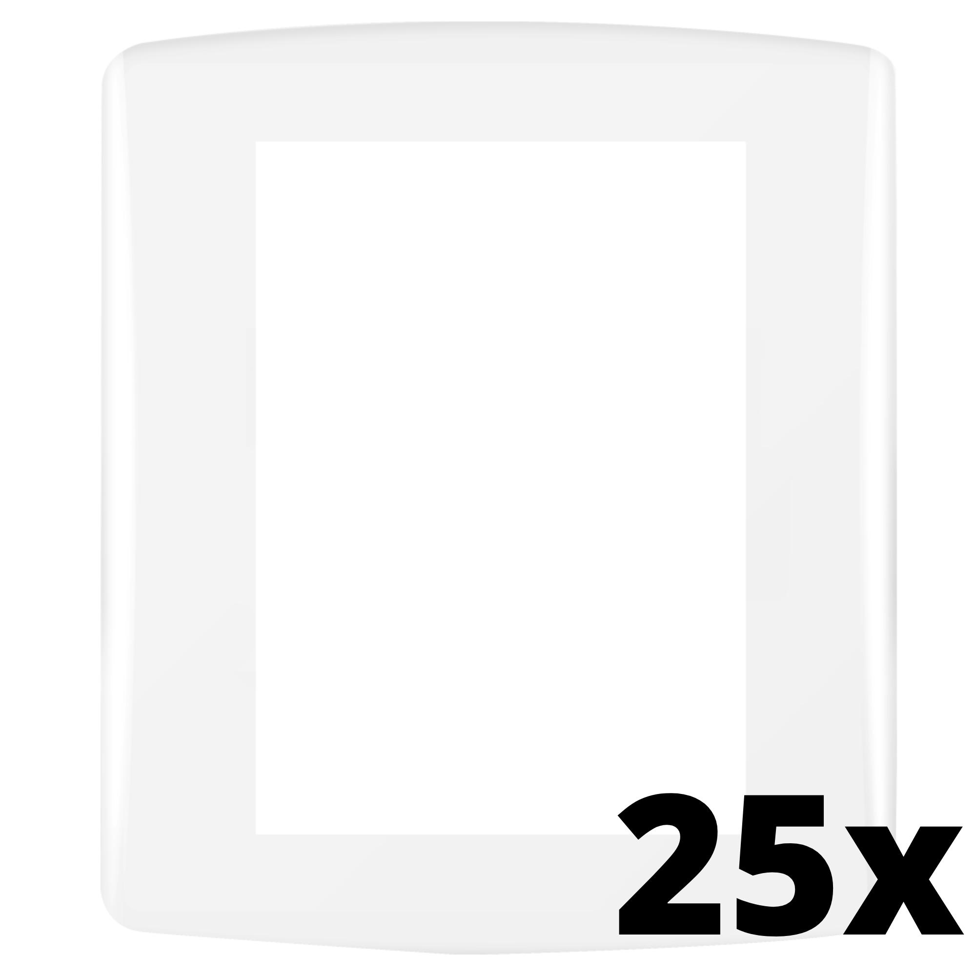 Kit 25 und Siena Fácil Placa 4x2 3 Seções
