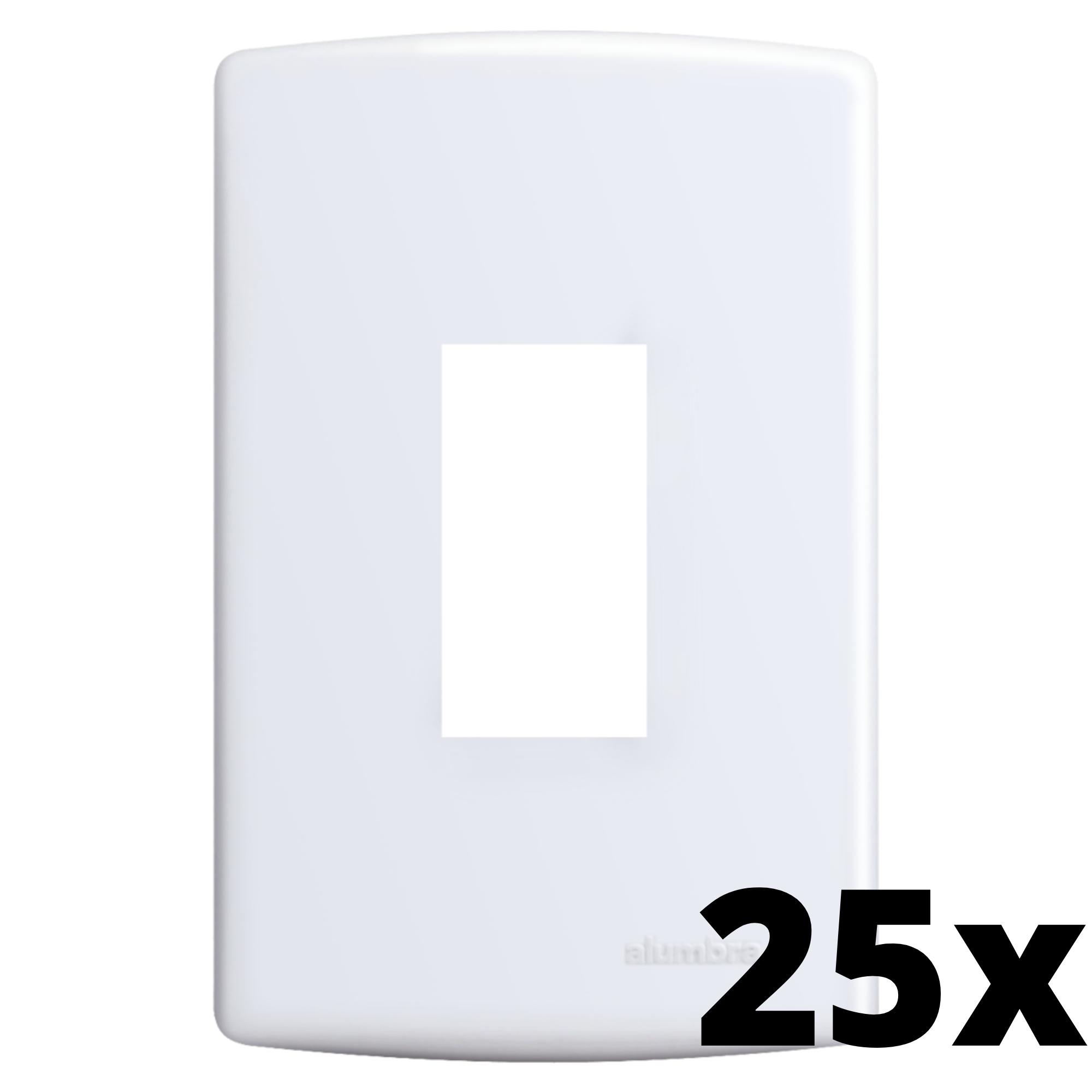 Kit 25 und Siena Placa 4x2 1 Seção Vertical