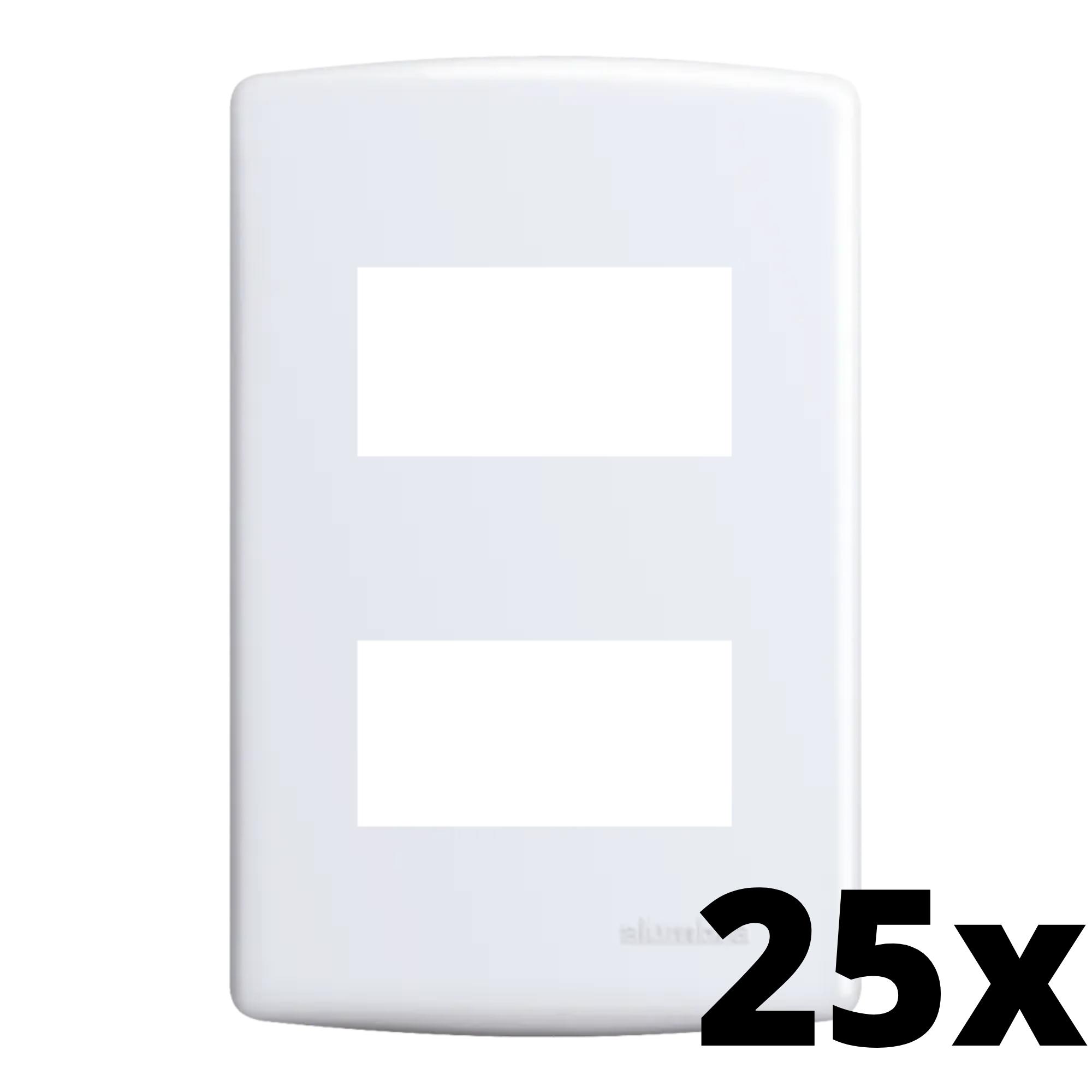 Kit 25 und Siena Placa 4x2 2 Seções Distanciadas