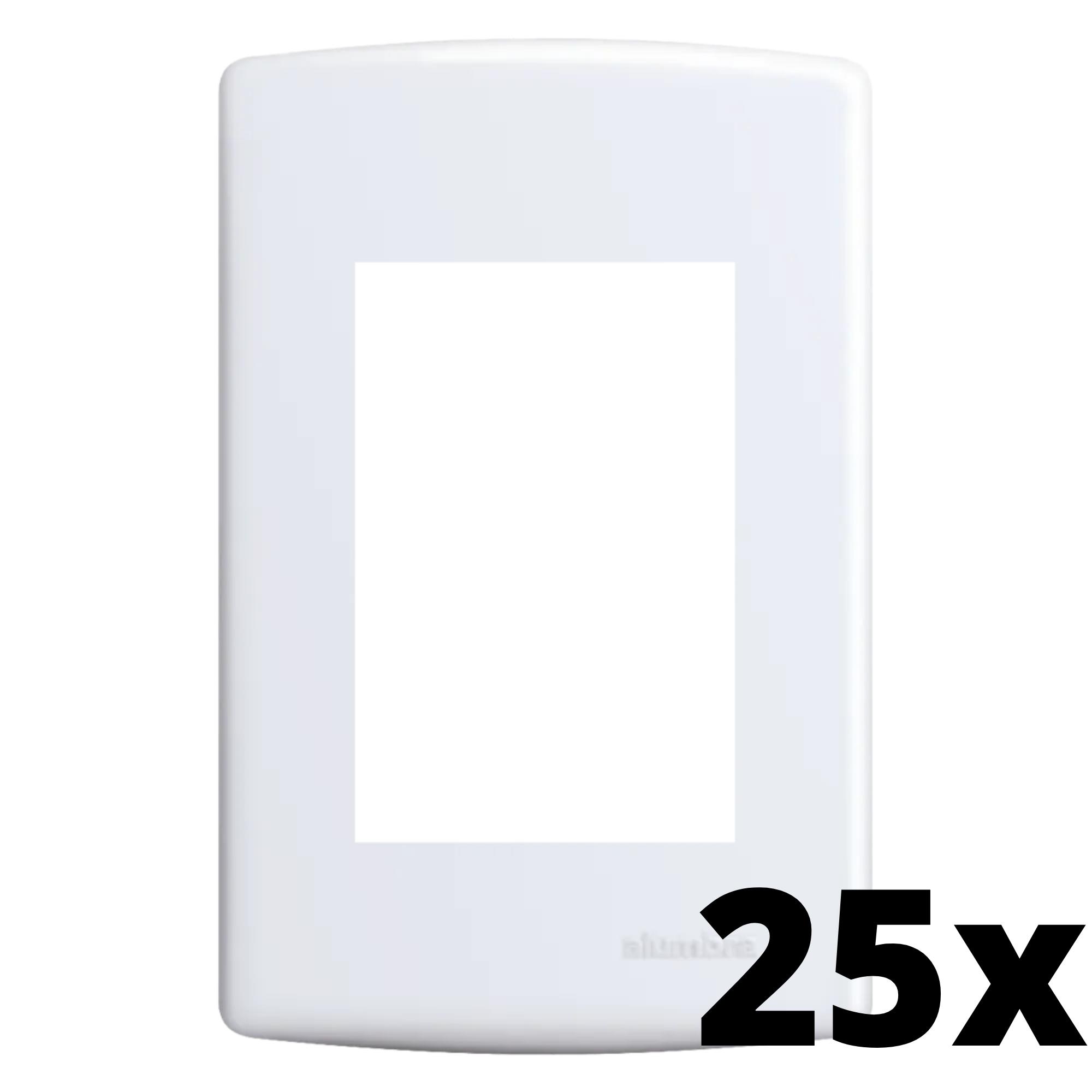 Kit 25 und Siena Placa 4x2 3 Seções