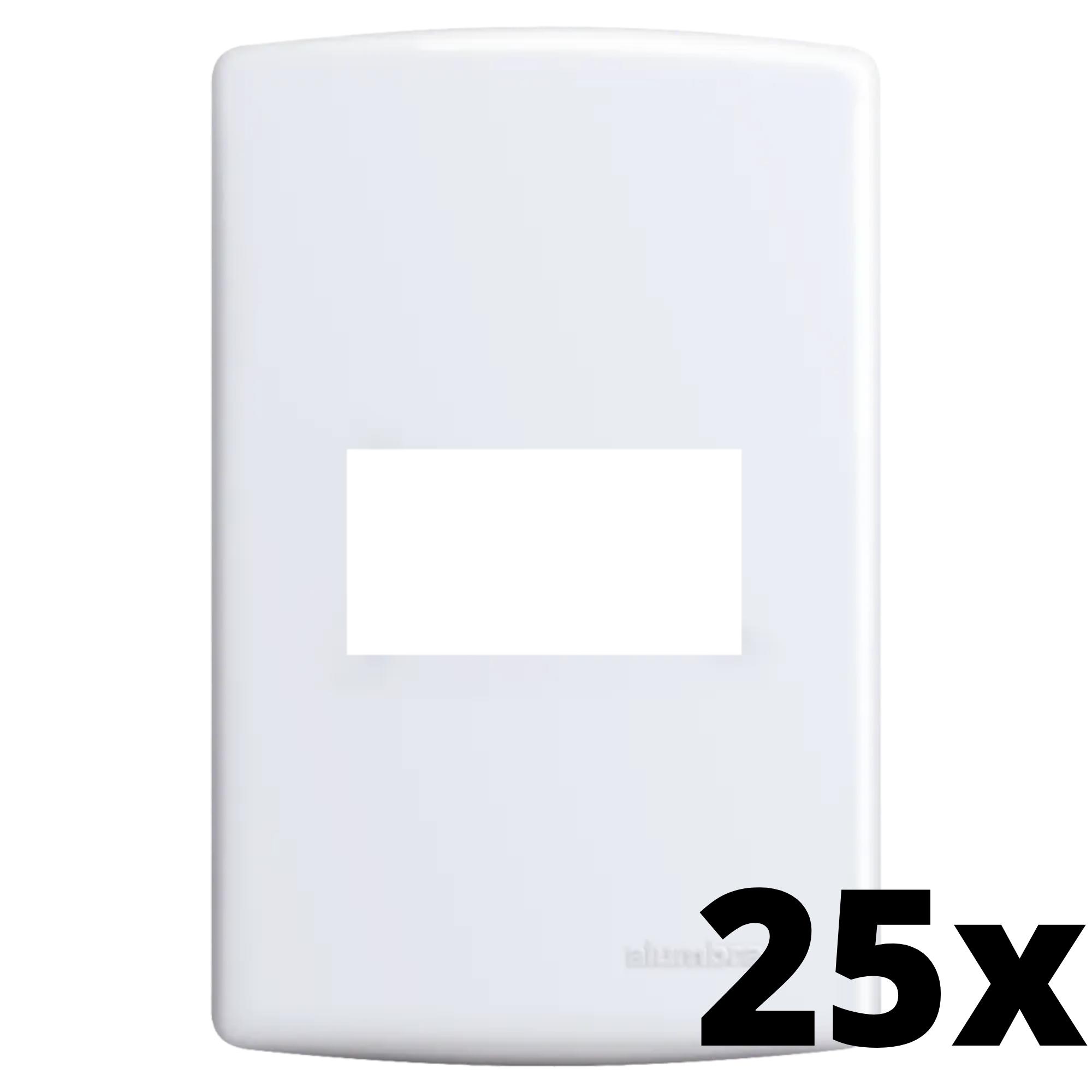 Kit 25 und Siena Placa 4x2 Cega