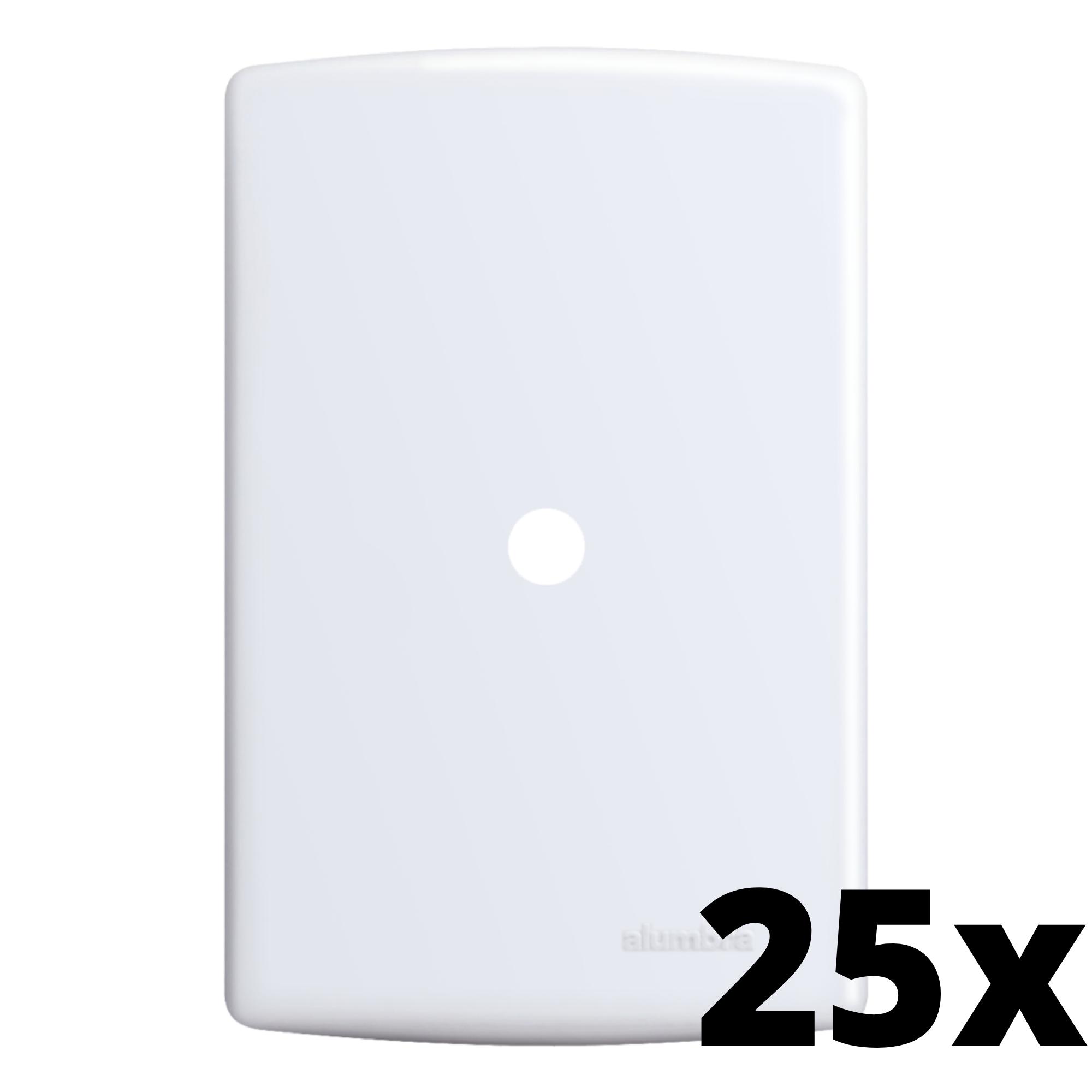 Kit 25 und Siena Placa 4x2 Com Furo