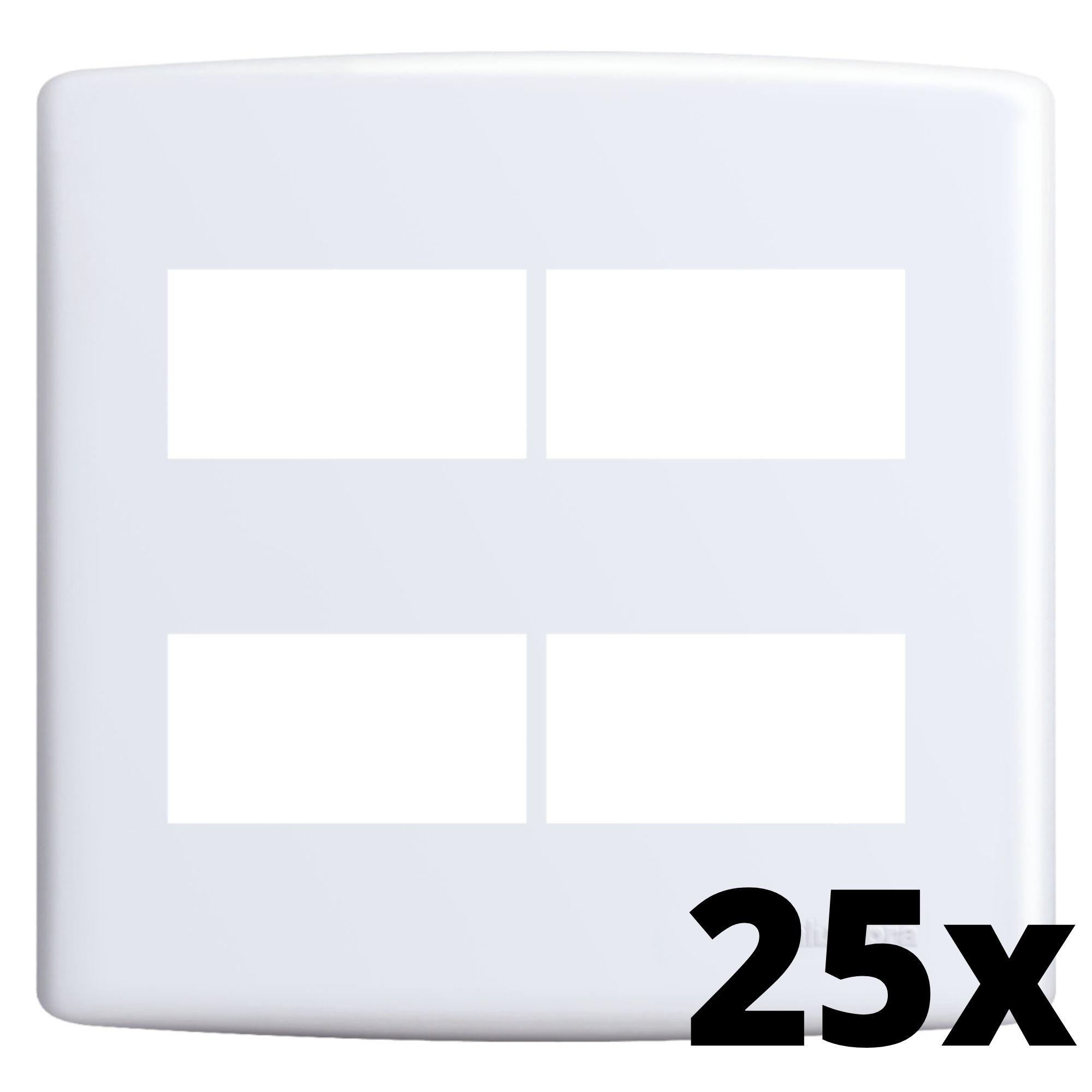 Kit 25 und Siena Placa 4x4 2 Seções + 2 Seções Distanciadas