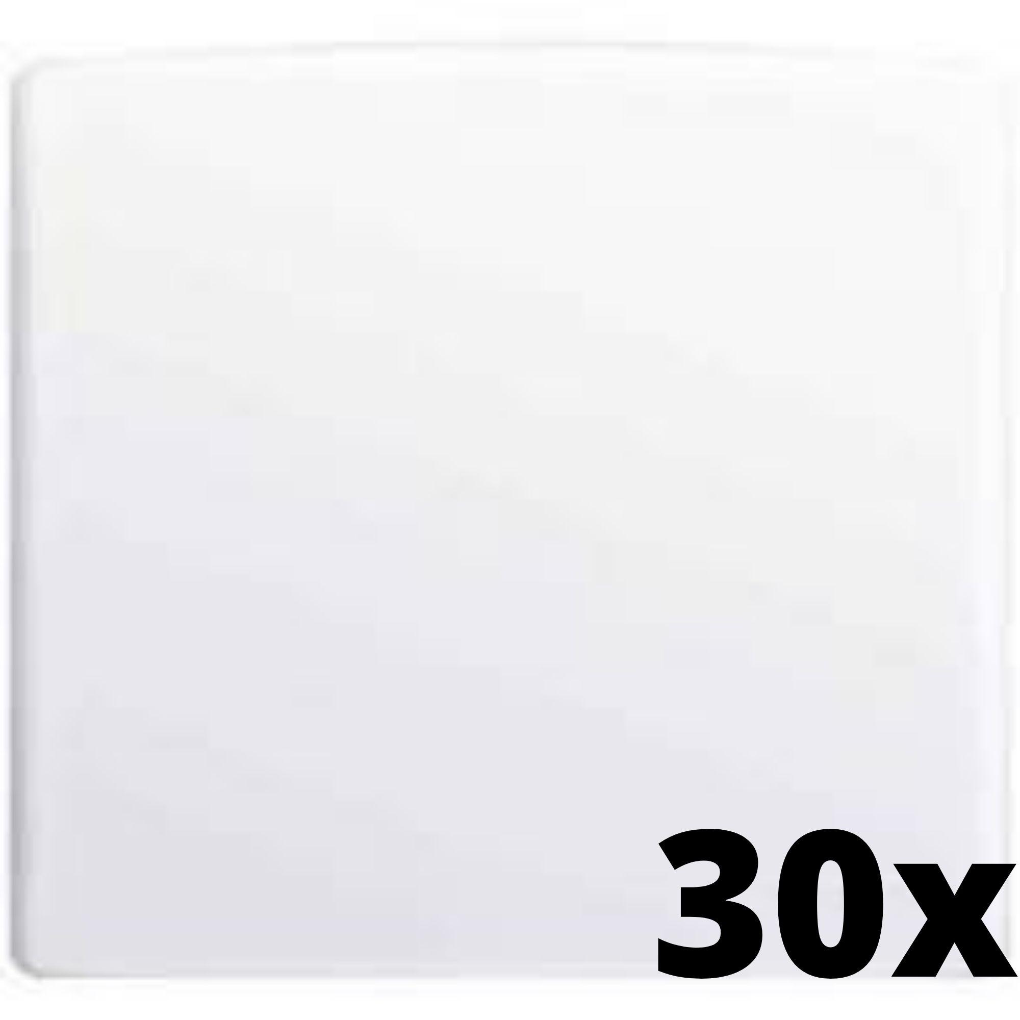 Kit 30 und Alumbra Bianco Pró Placa 4x4 Cega