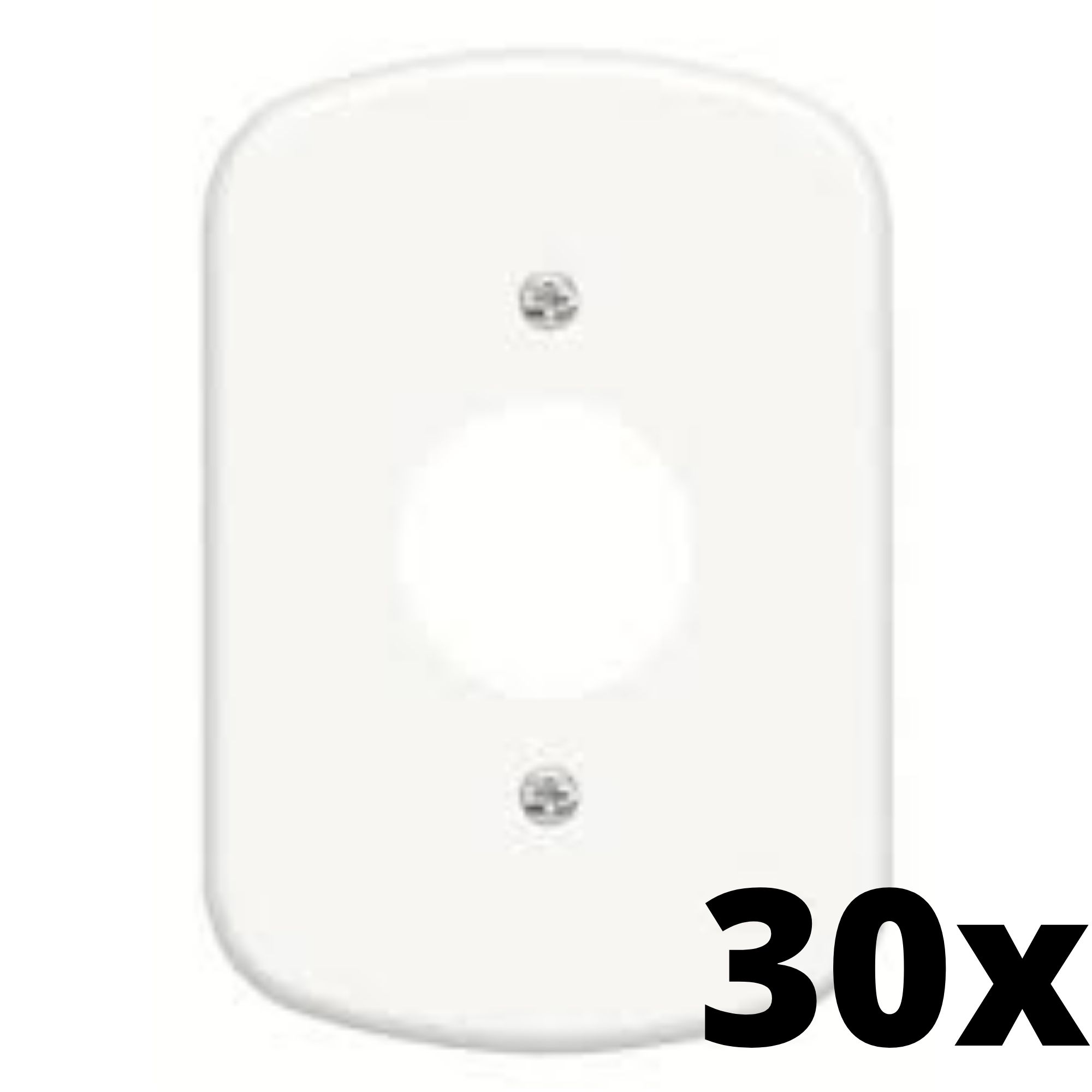 Kit 30 und  Blanc Placa 4x2 3 Seções