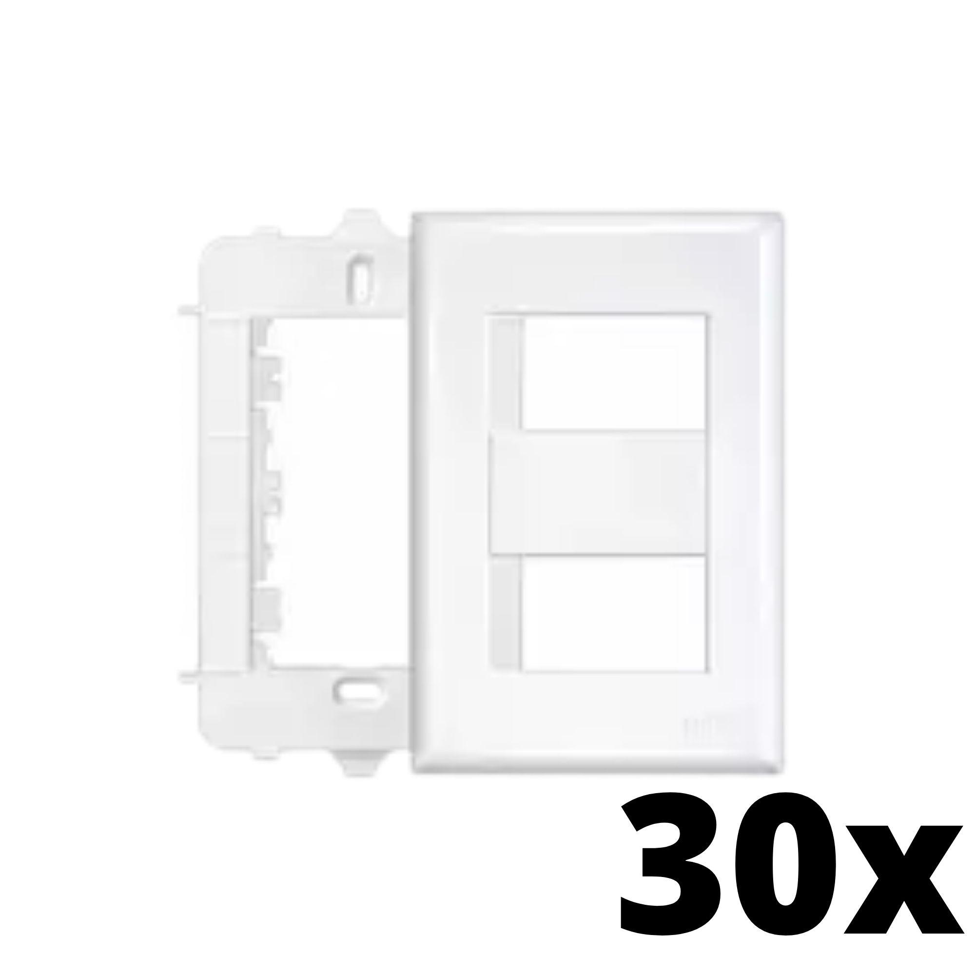 Kit 30 und Evidence Placa 4x2 2 Seções Distanciadas