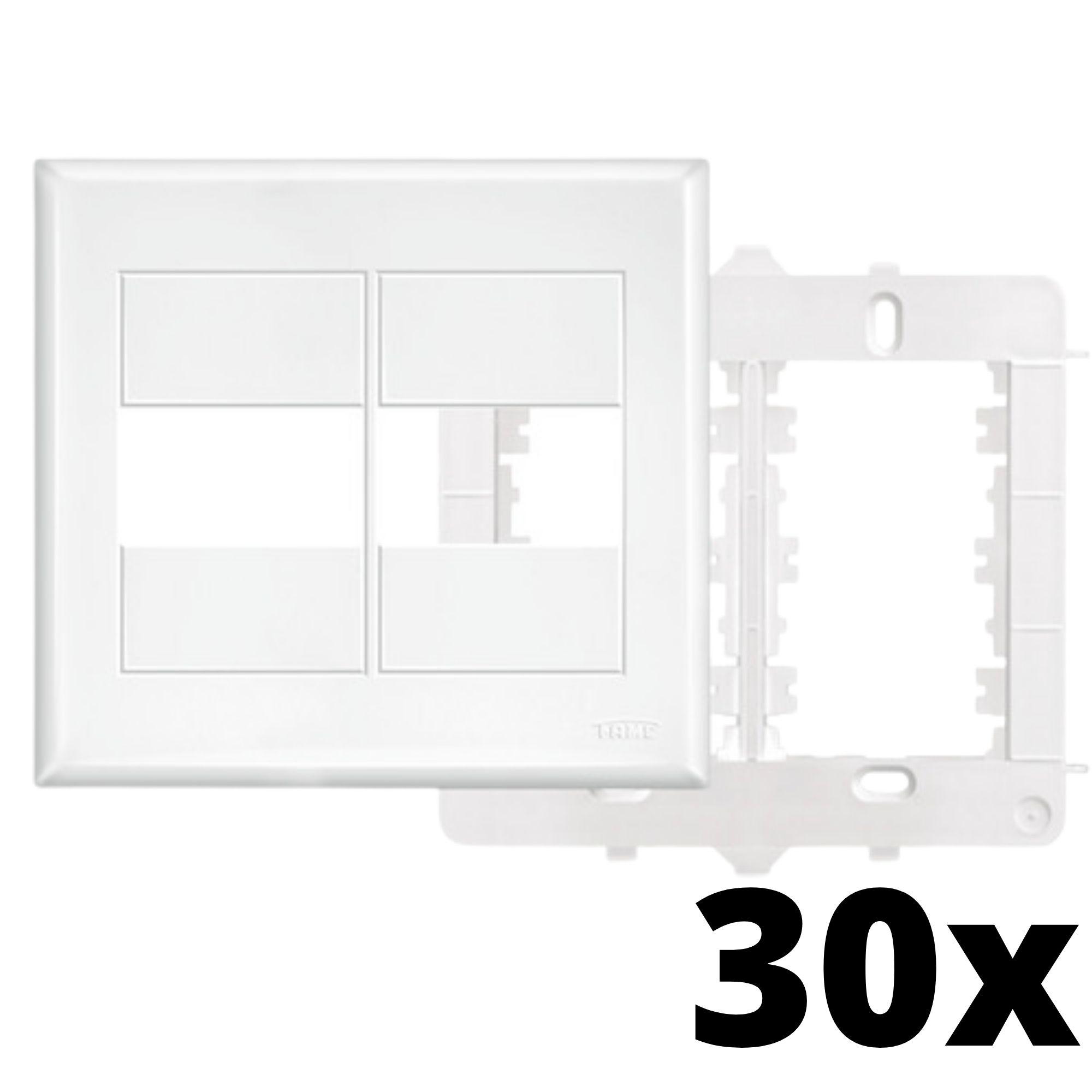 Kit 30 und Evidence Placa 4x4 1 Seção + 1 Seção