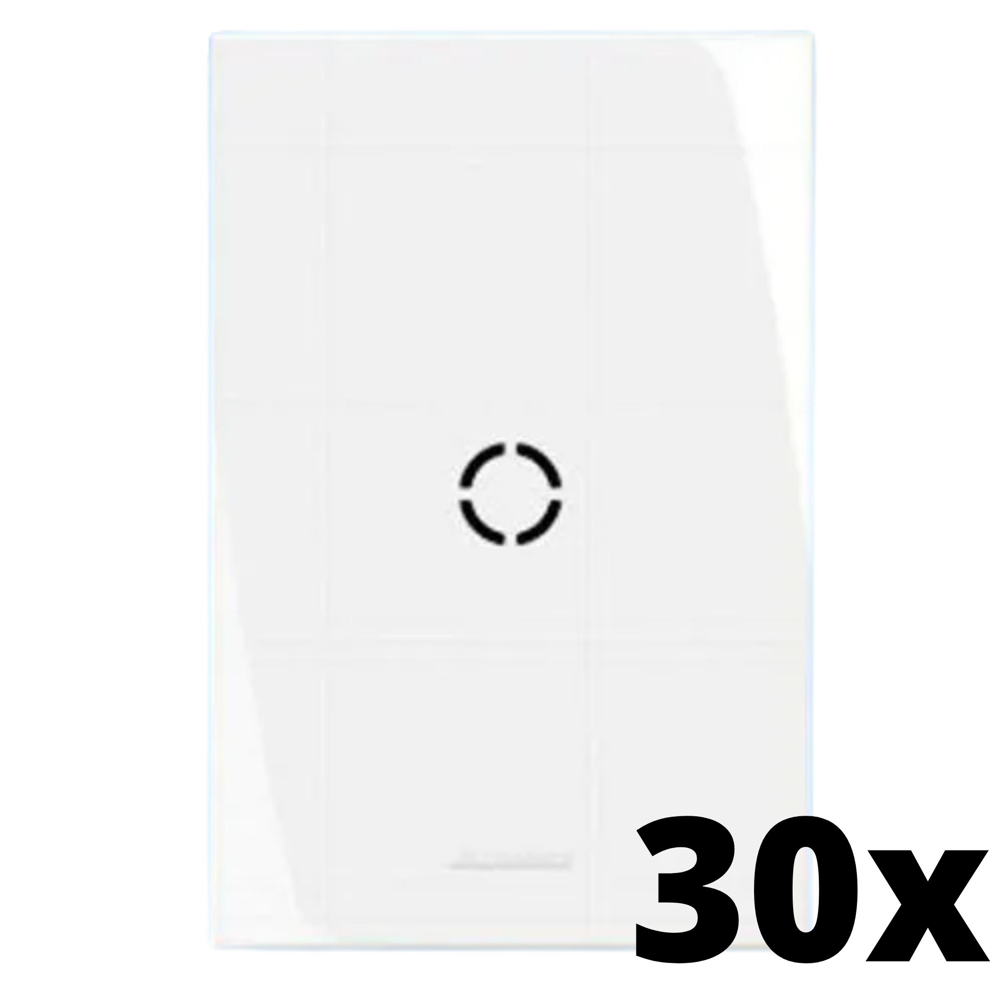 Kit 30 und Inova Pró Placa 4x2 Com Furo