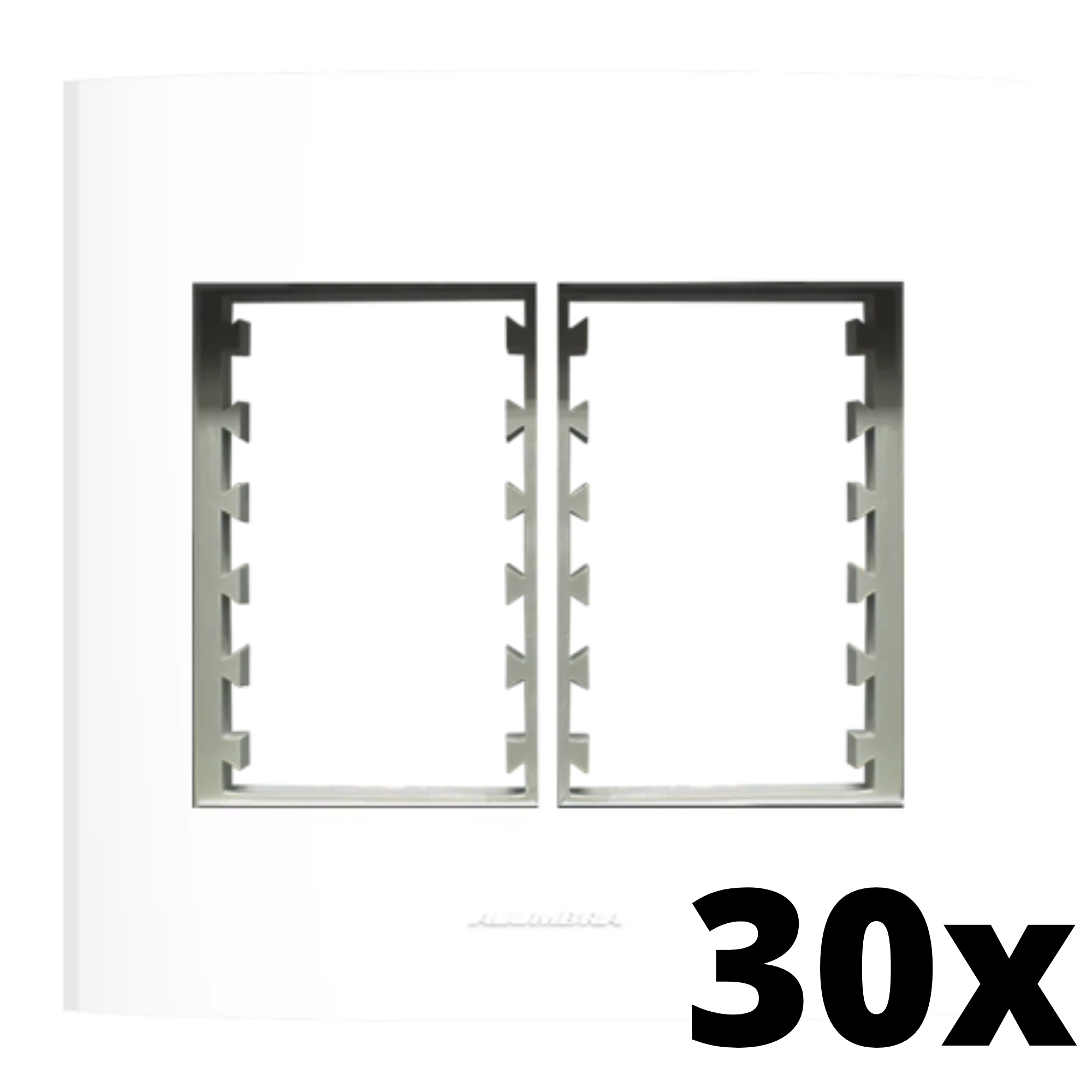 Kit 30 und Inova Pró Placa 4x4 3 Seções + 3 Seções