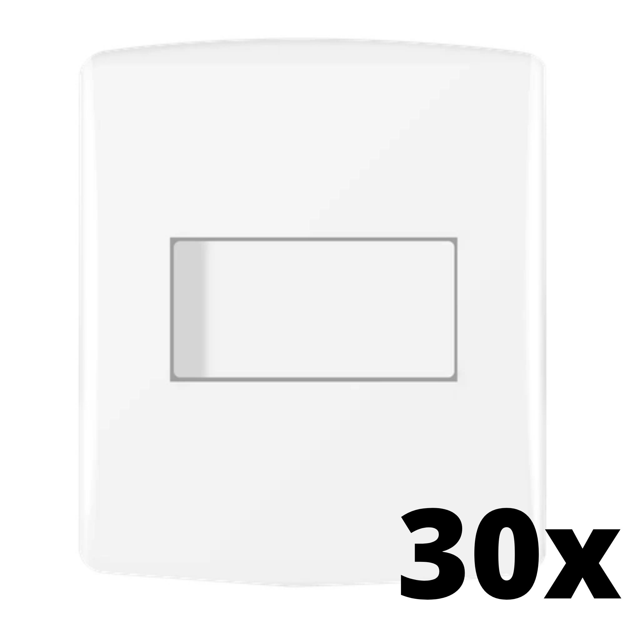 Kit 30 und Siena Fácil 1 Seção de Interruptor Simples