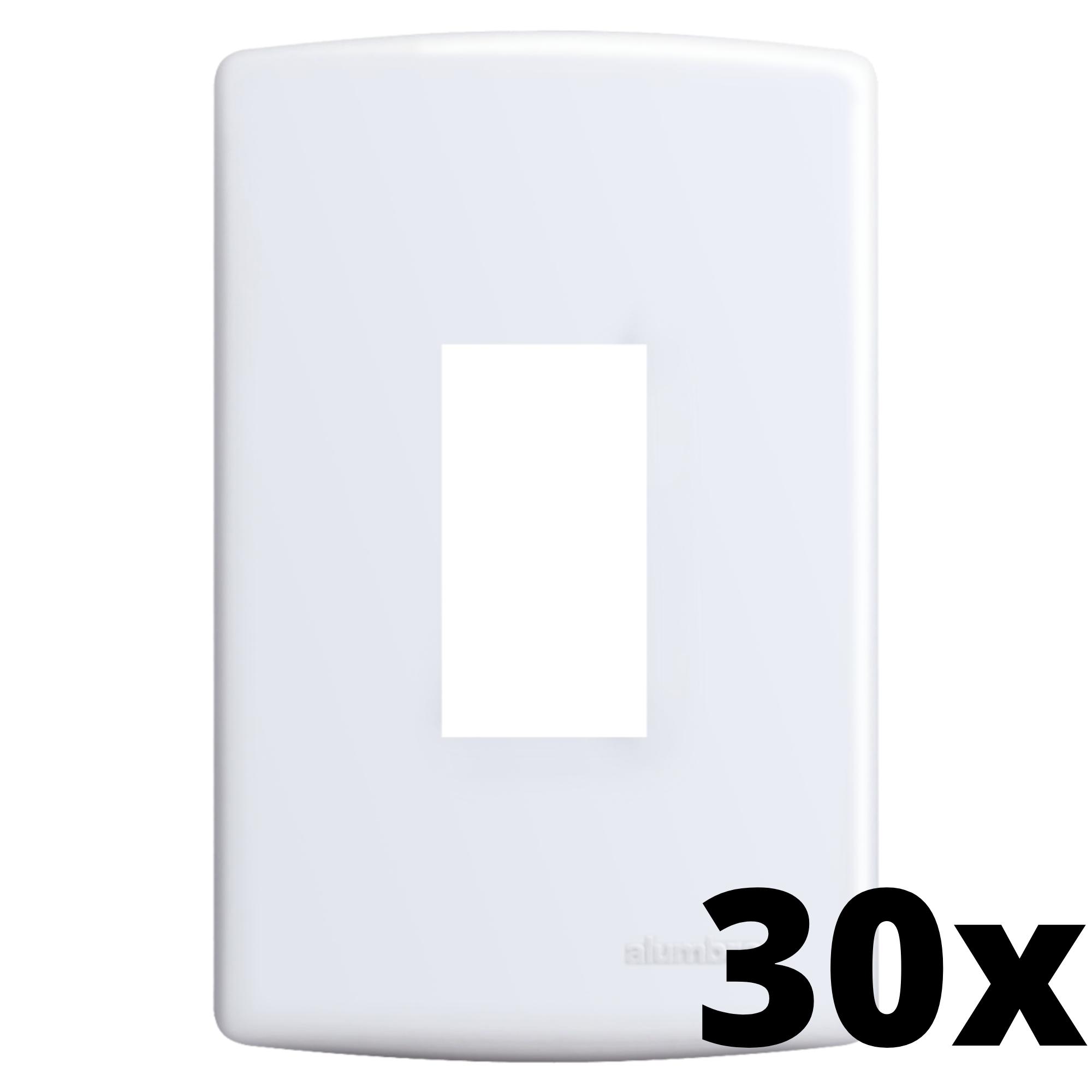 Kit 30 und Siena Placa 4x2 1 Seção Vertical