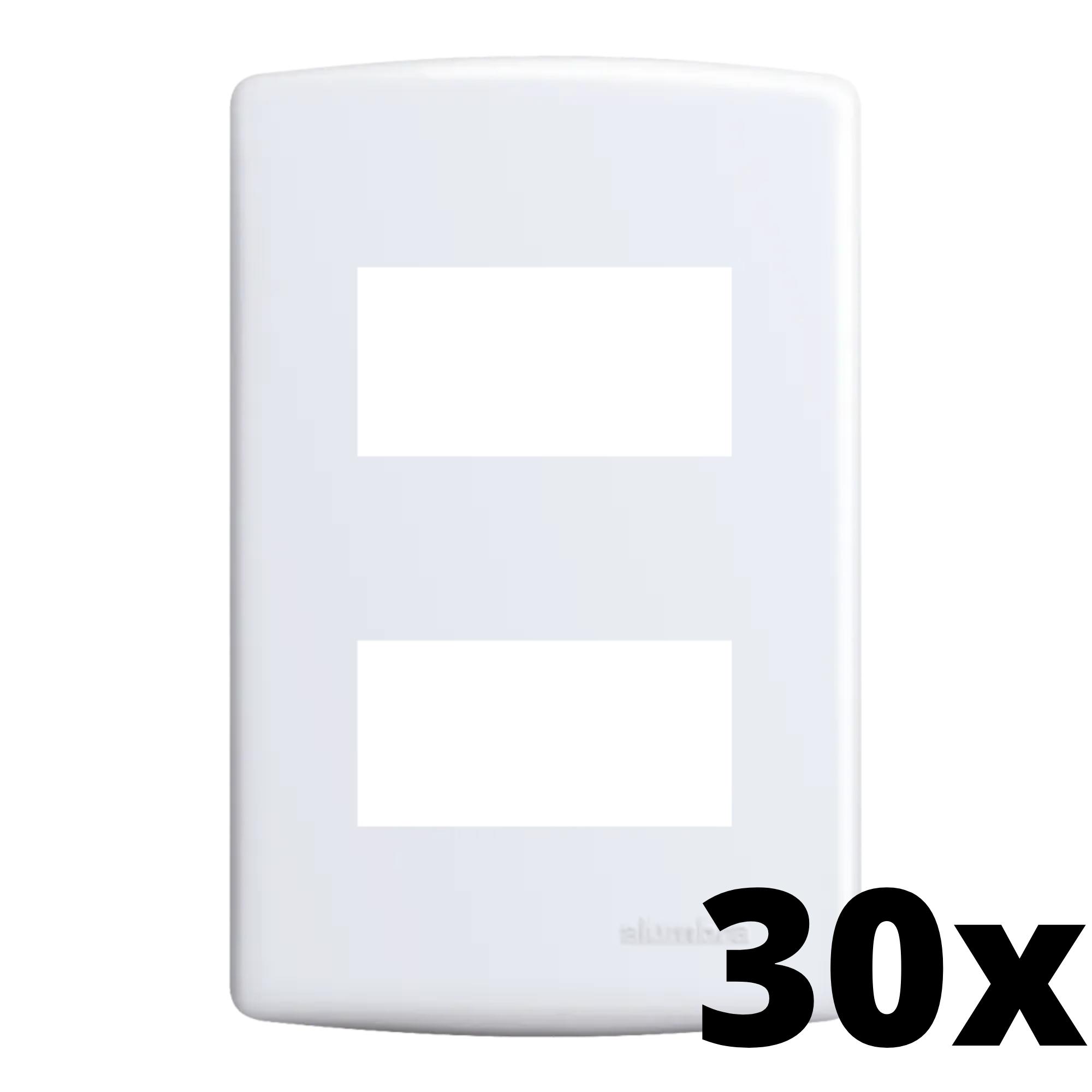Kit 30 und Siena Placa 4x2 2 Seções Distanciadas