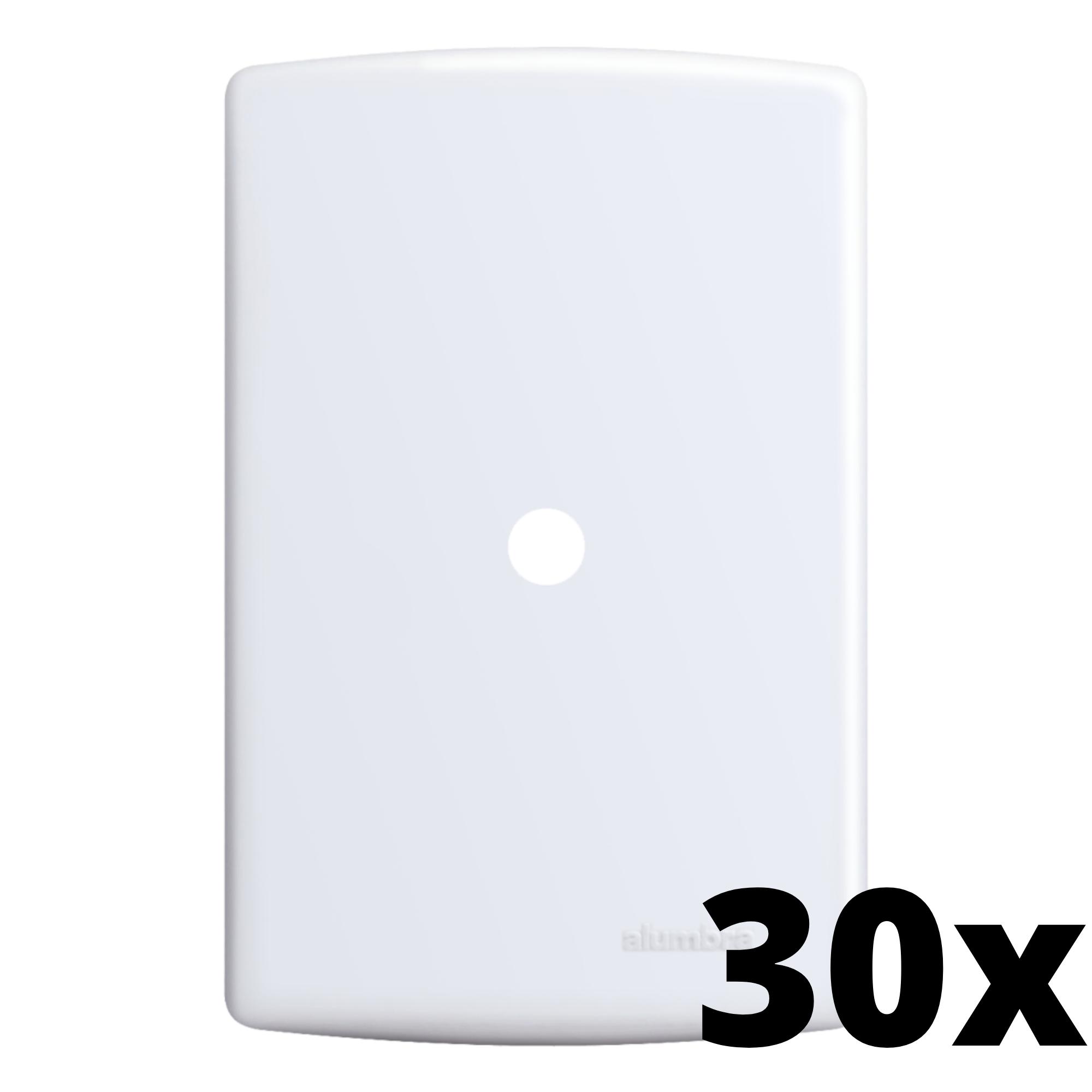 Kit 30 und Siena Placa 4x2 Com Furo
